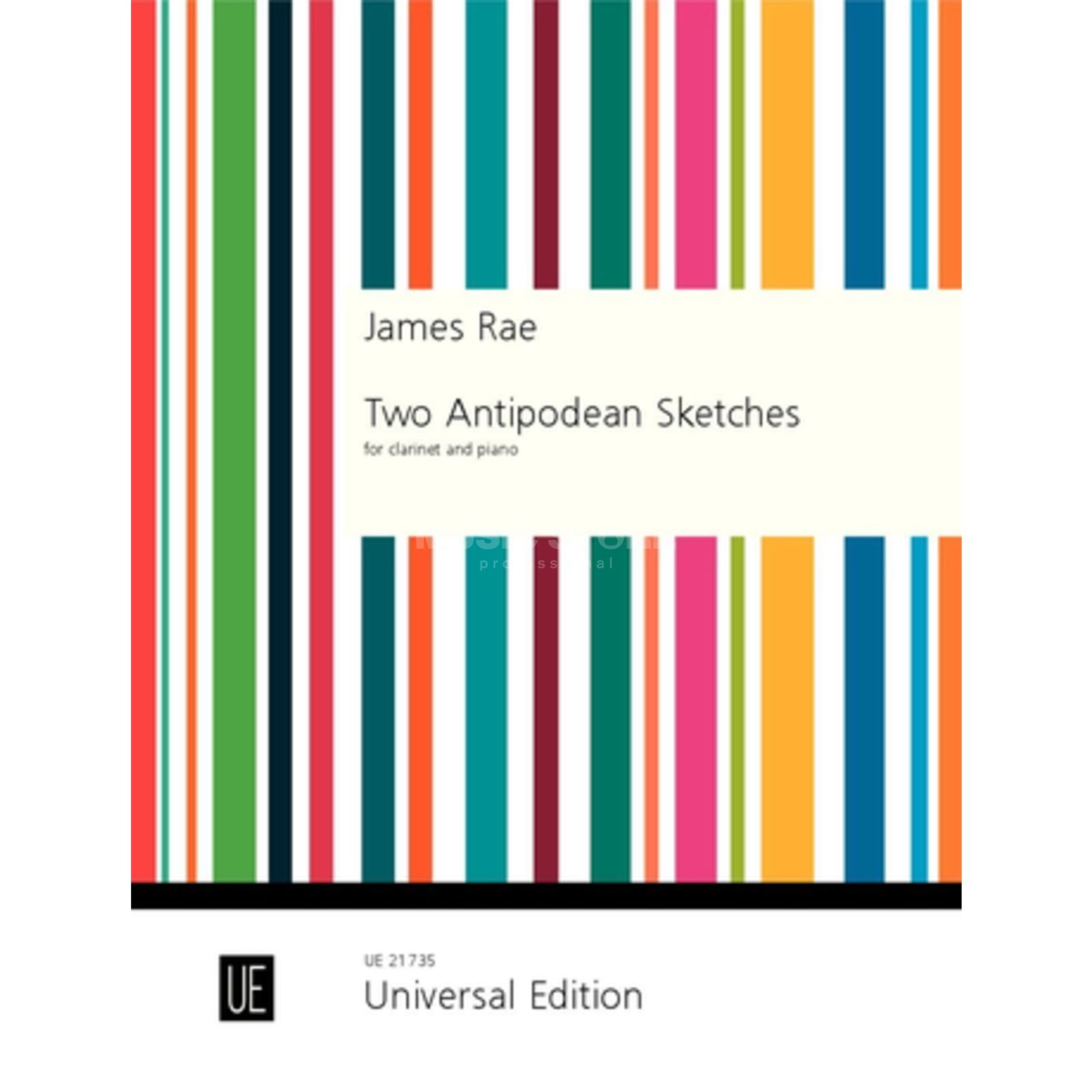 Universal Edition James Rae: Two Antipodean Sketches Produktbild