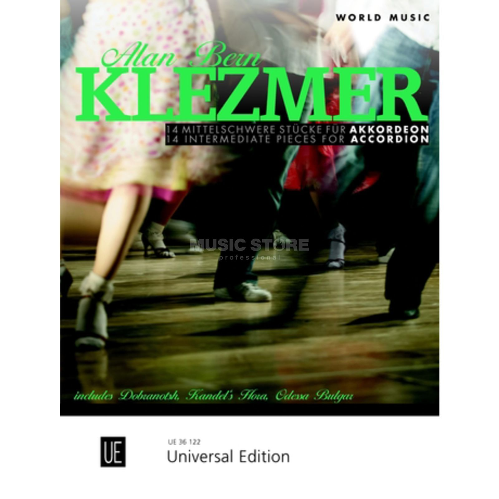 Universal Edition Klezmer Accordion Produktbild