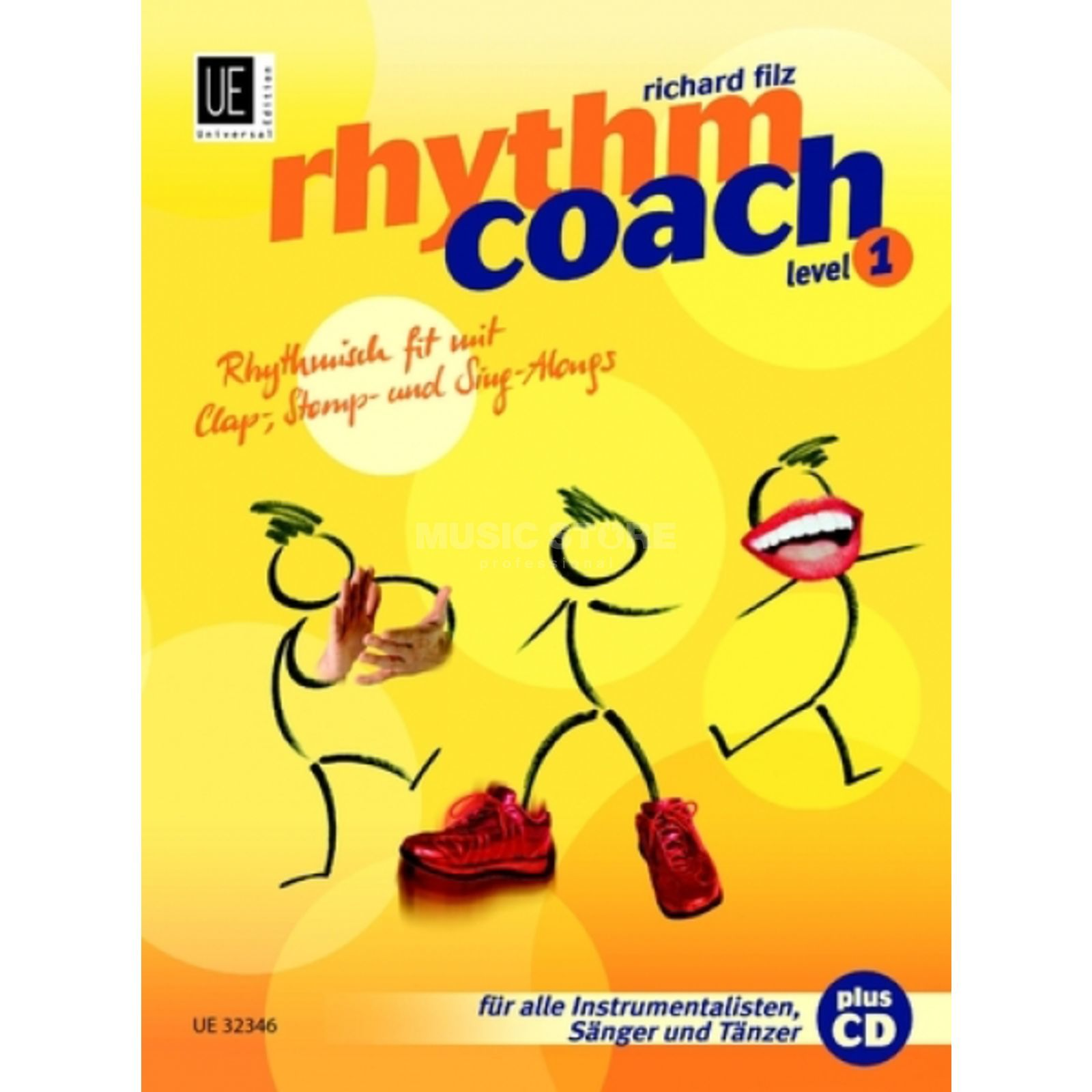 Universal Edition Rhythm Coach 1 mit CD Filz, Buch/CD Product Image