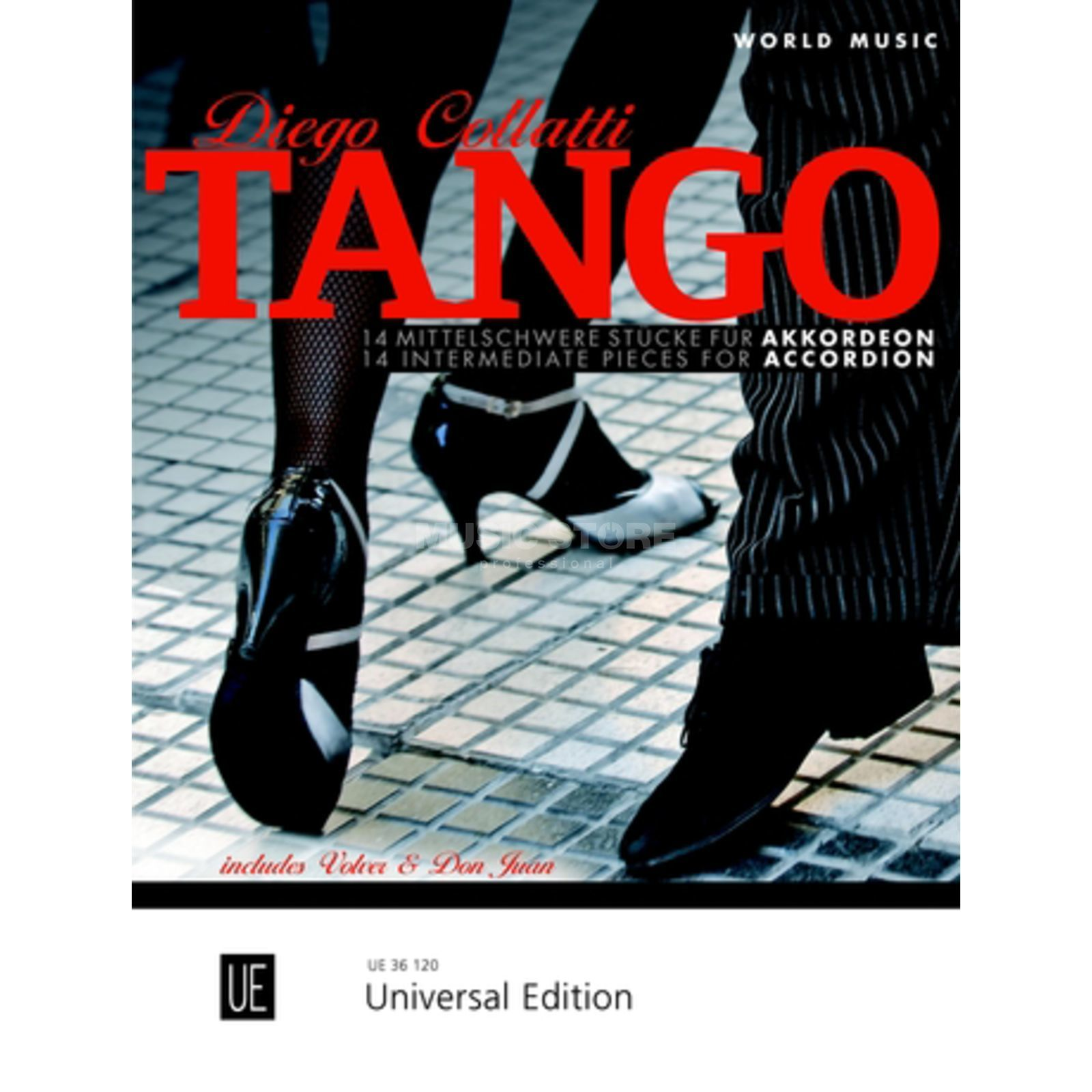 Universal Edition Tango Accordion Produktbild