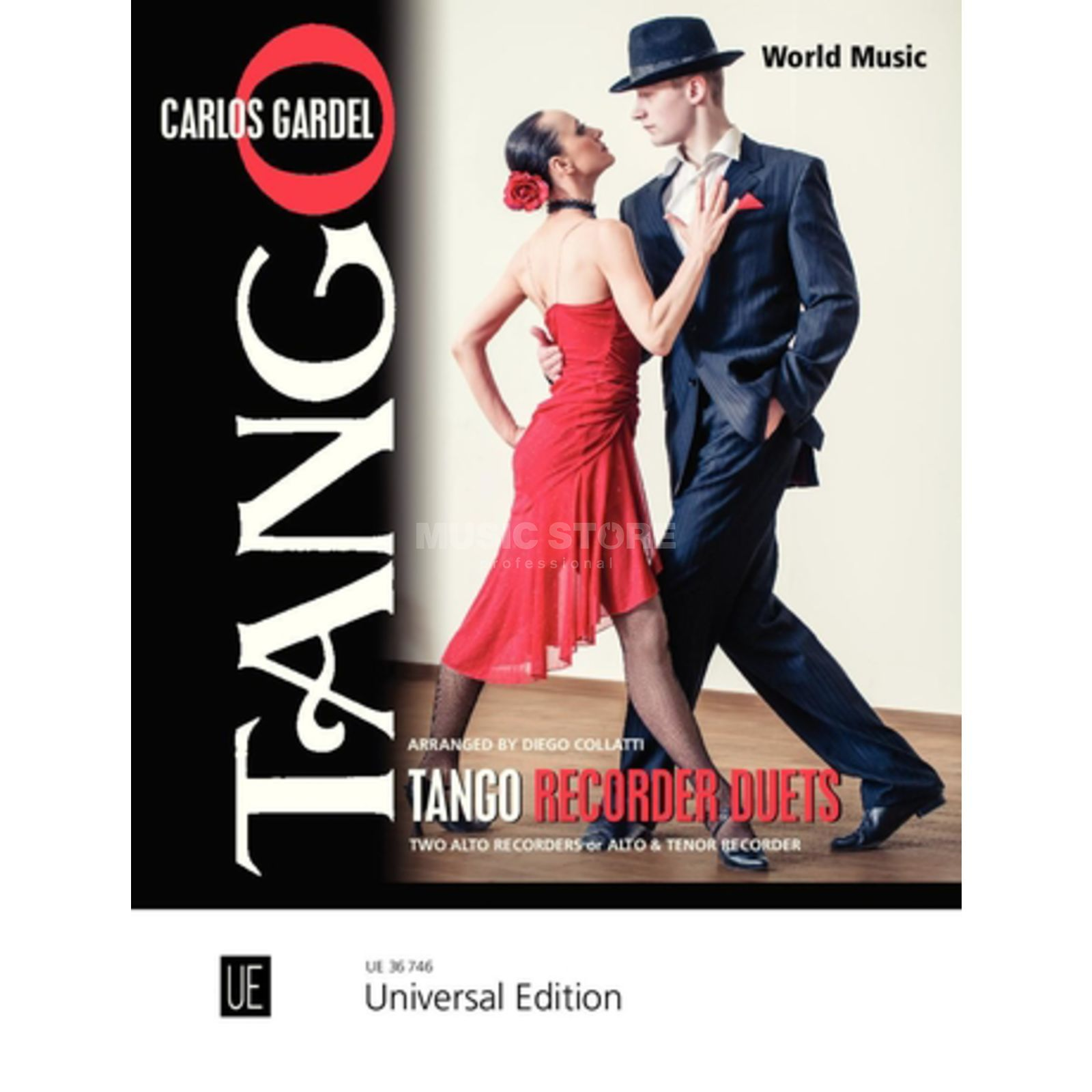 Universal Edition Tango Recorder Duets Product Image