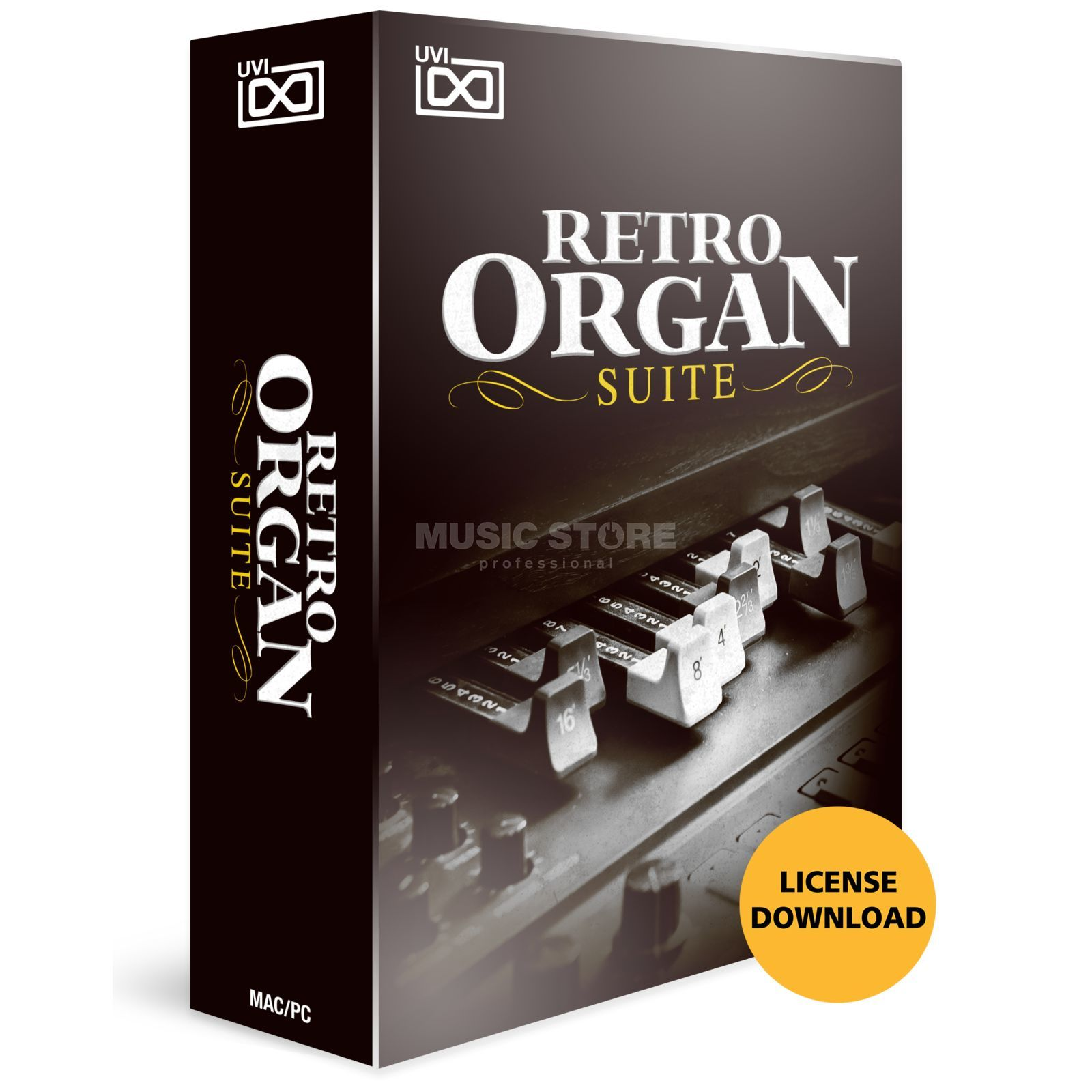 UVI Retro Organ Suite (Lizenz) Software Instrument Produktbild