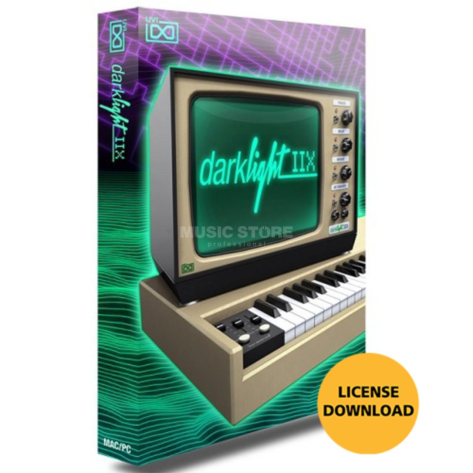 UVI Sounds & Software Darklight IIx (Lizenz) Software Instrument Produktbild