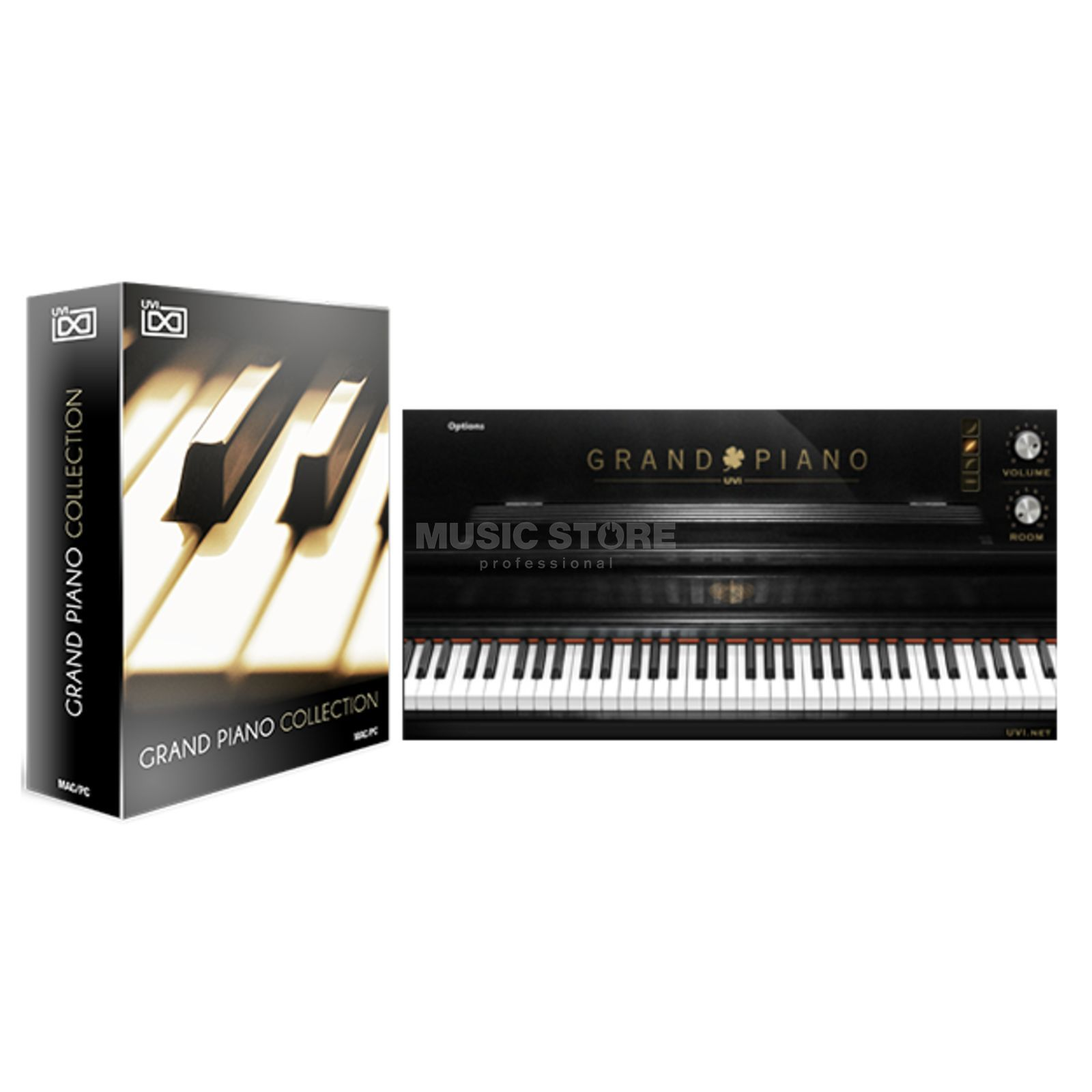 UVI Sounds & Software F Grand Piano 278 CODE Einzelstück B-Stock Produktbild