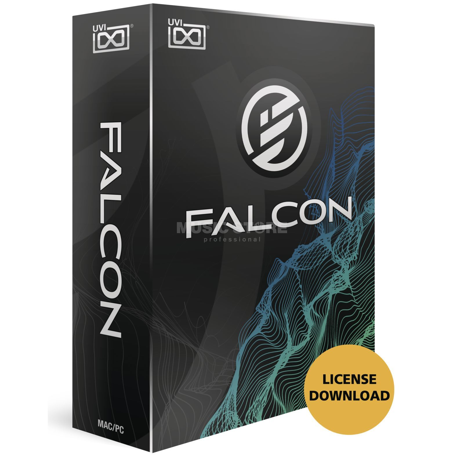 UVI Sounds & Software Falcon (Lizenz) Software Instrument Produktbild