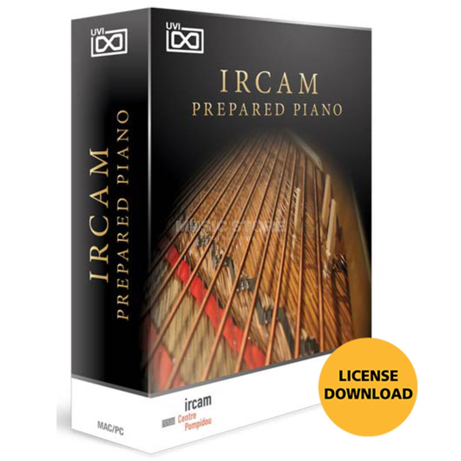 UVI Sounds & Software Ircam Prepared Piano CODE  Produktbild