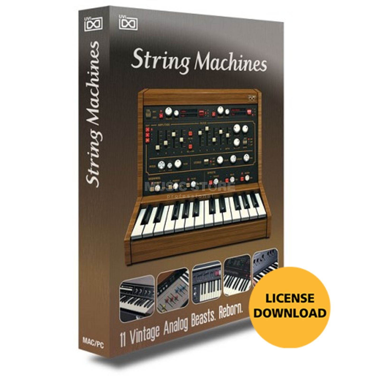 UVI String Machines CODE Software Synthesizer Produktbillede