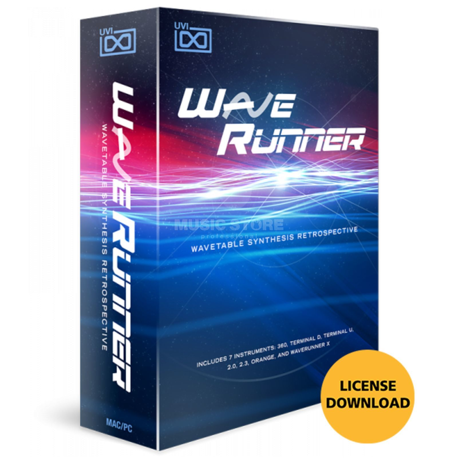 UVI WaveRunner License Code Produktbild