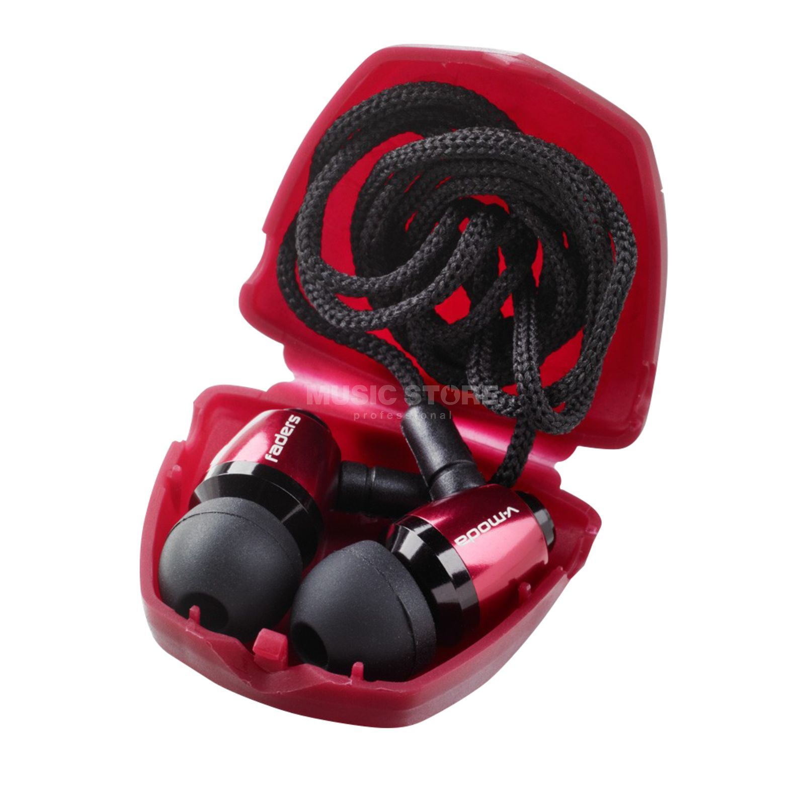 V-Moda Faders VIP by Ear Armor rouge Produktbild