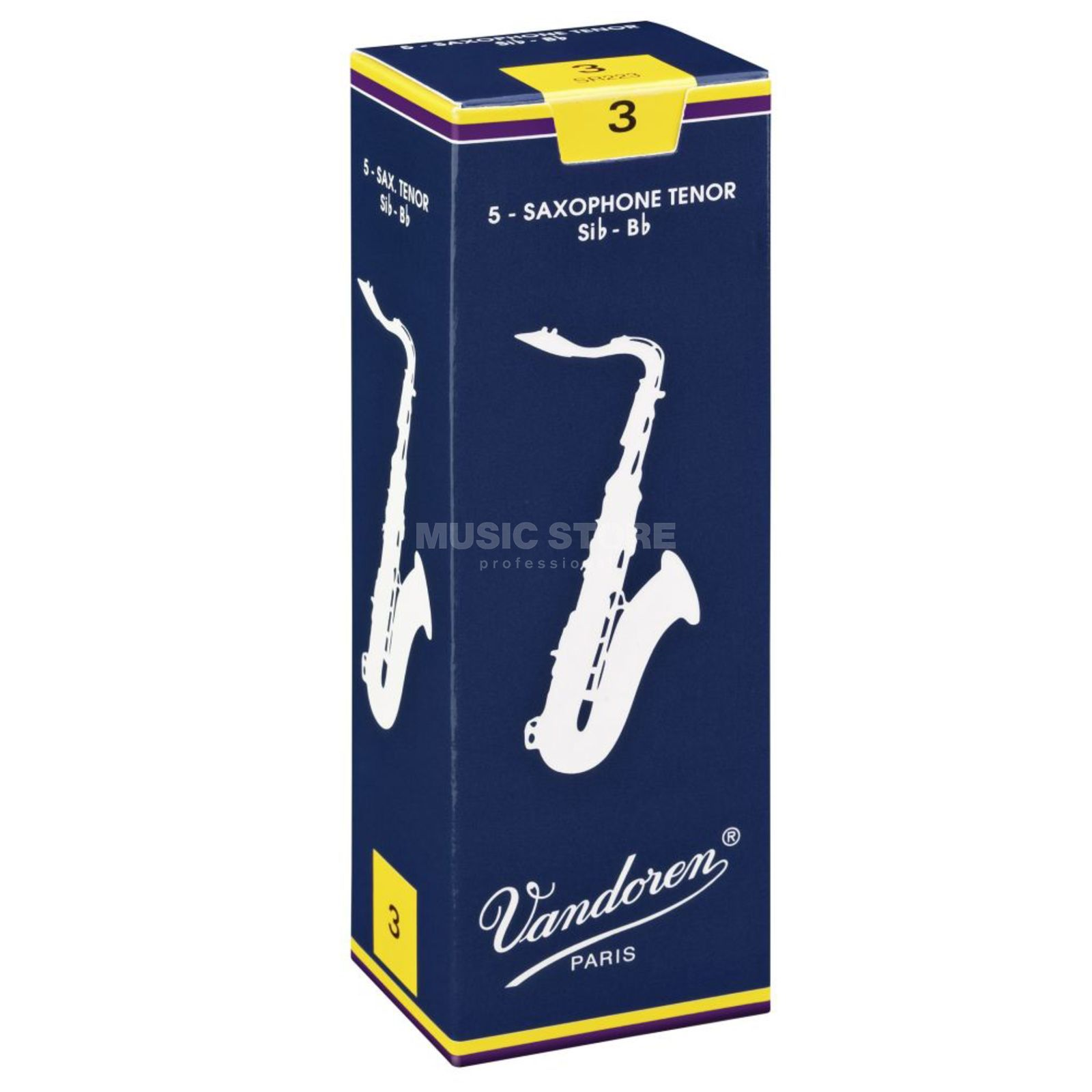 Vandoren Classic Tenor Sax Reeds  1.5 Box of 5 Изображение товара