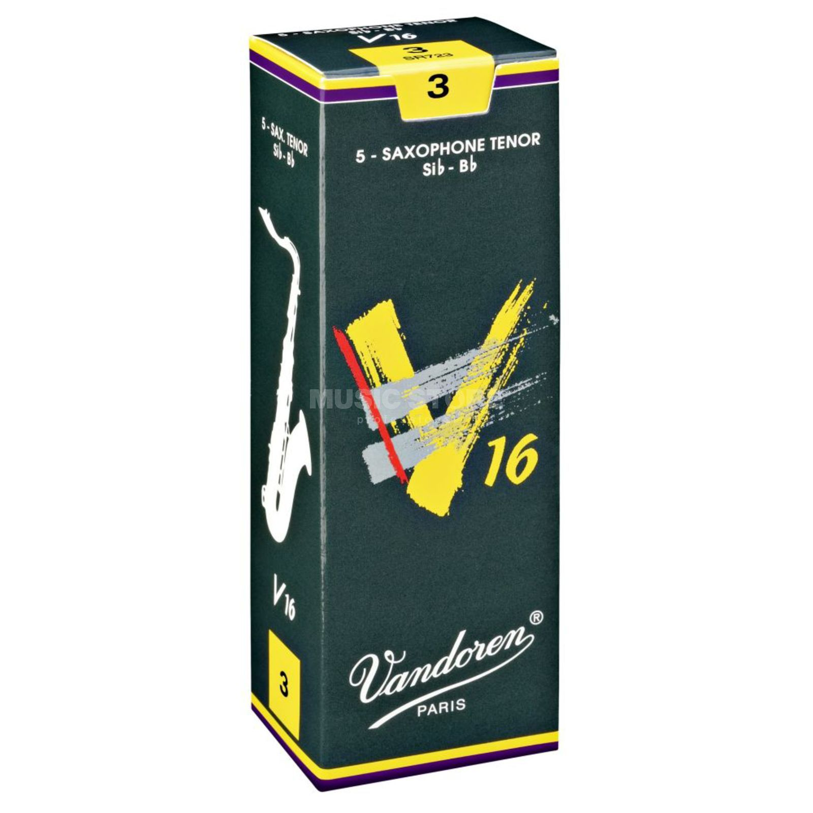 Vandoren V16 Tenor Sax Reeds 3.5 Box of 5 Product Image