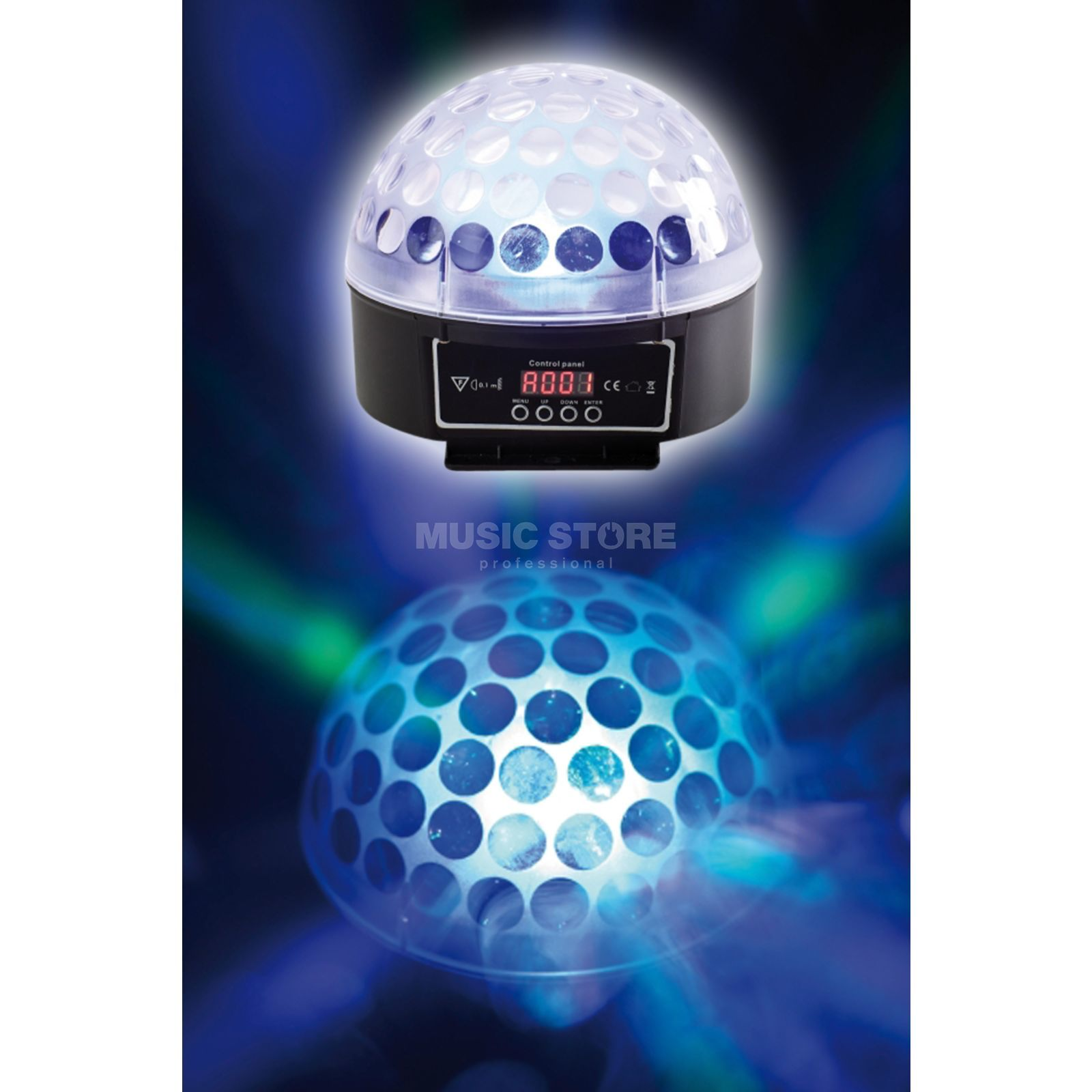 Varytec Hellball 3 LED-Light Effect, 3x3W RGB-LEDs Produktbillede