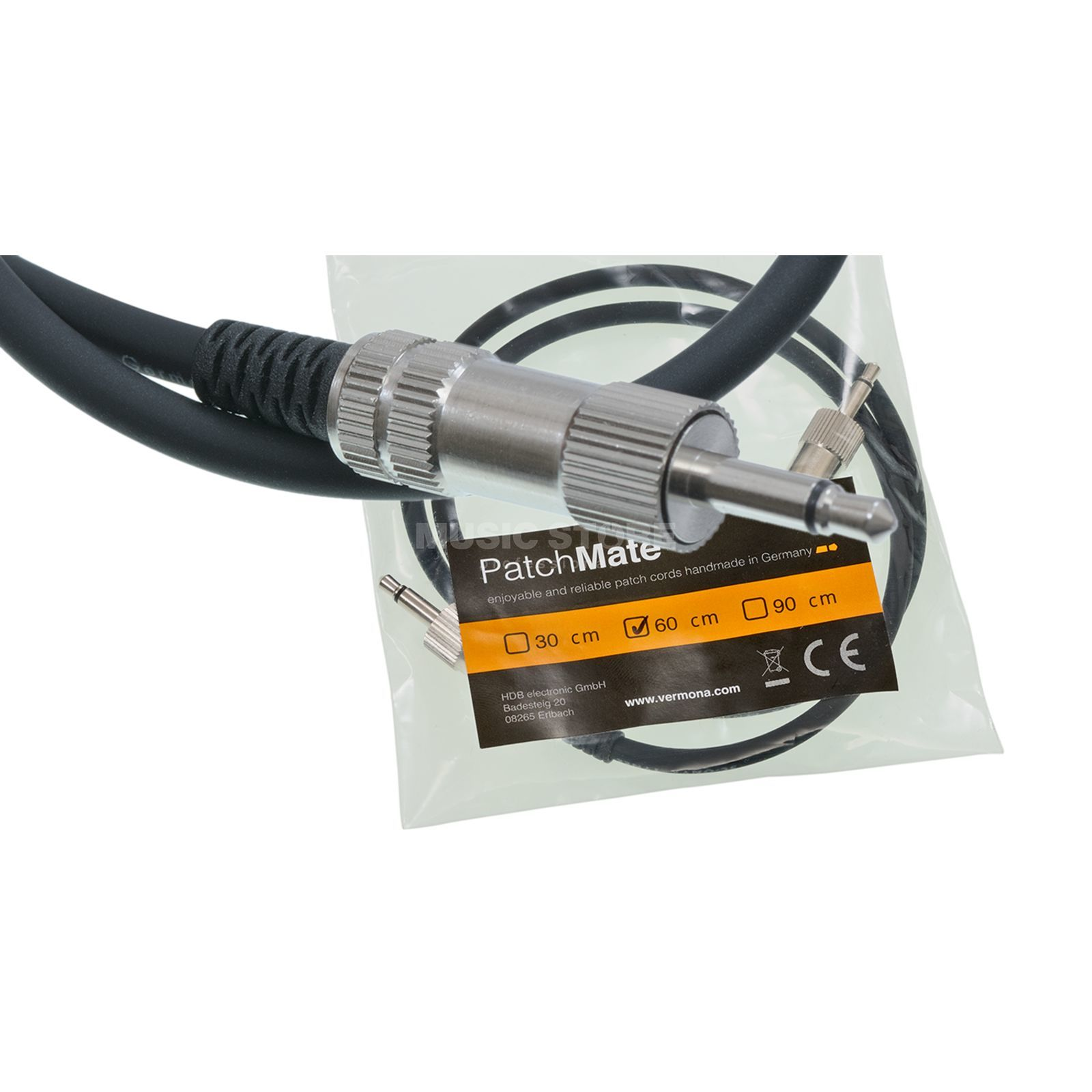 Vermona Modulear Patchmate Cable 60cm deluxe patchcable Produktbillede