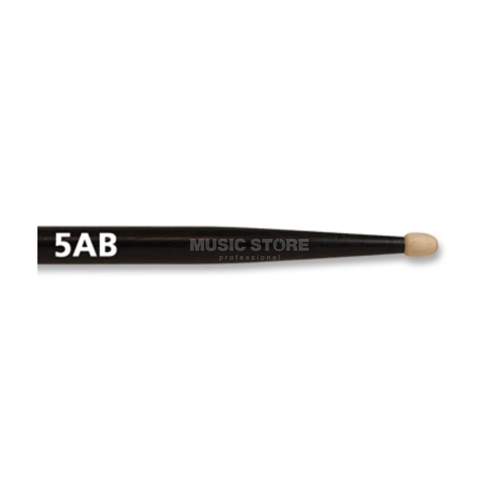 Vic-Firth 5AB Sticks, Black American Classic, Wood Tip Produktbild