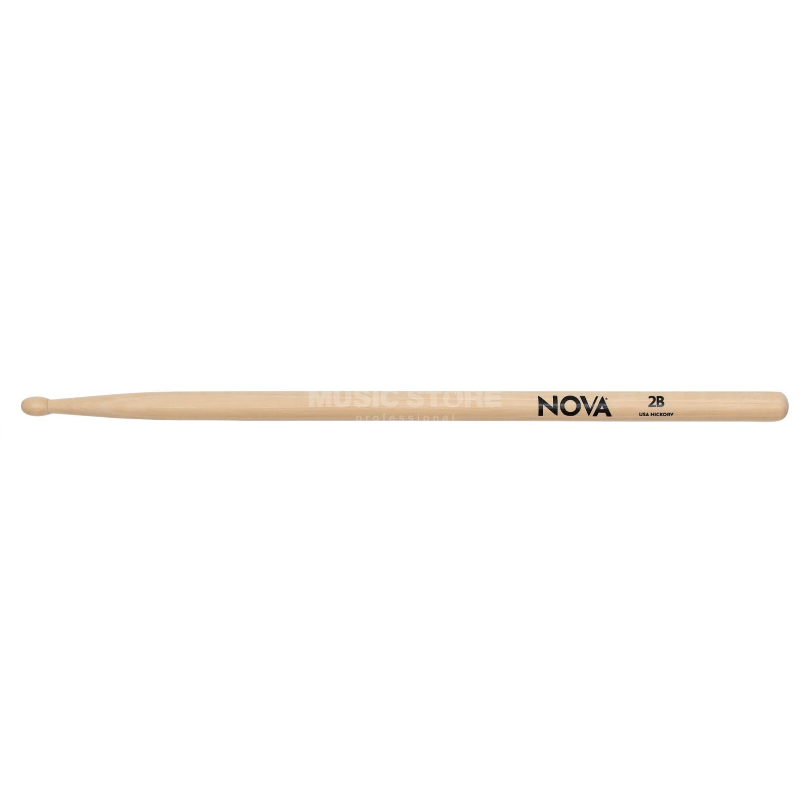 Vic-Firth Nova Drum Sticks 2B, Wood Tip Produktbild