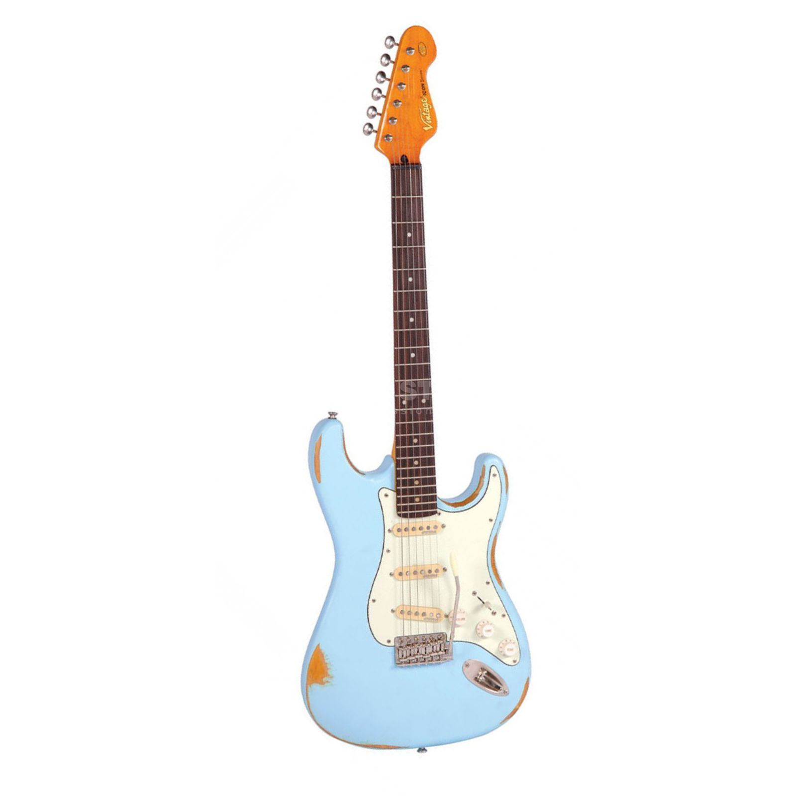 Vintage Icon V6MRLB Distressed Laguna Blue Product Image