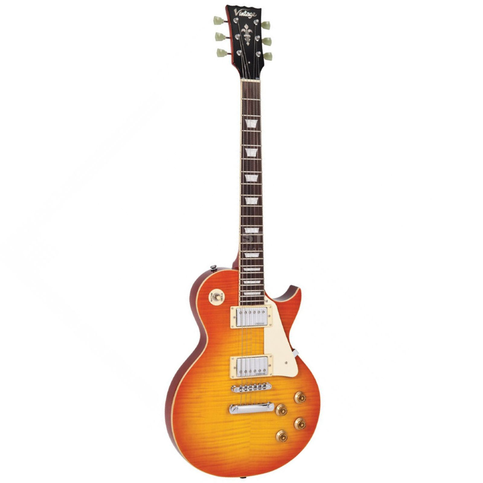 Vintage Reissued V100HB Flamed Honeyburst Produktbild