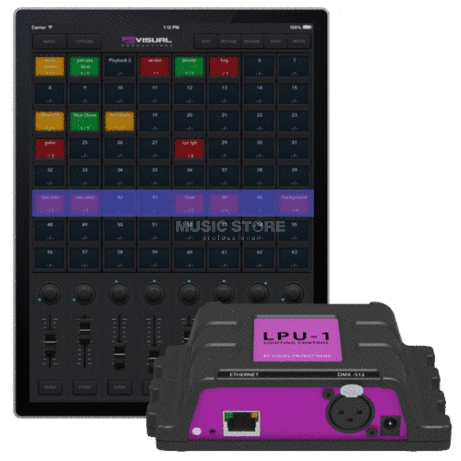 Visual Productions Cuety LPU-1 DMX-Interface für iPad Produktbillede