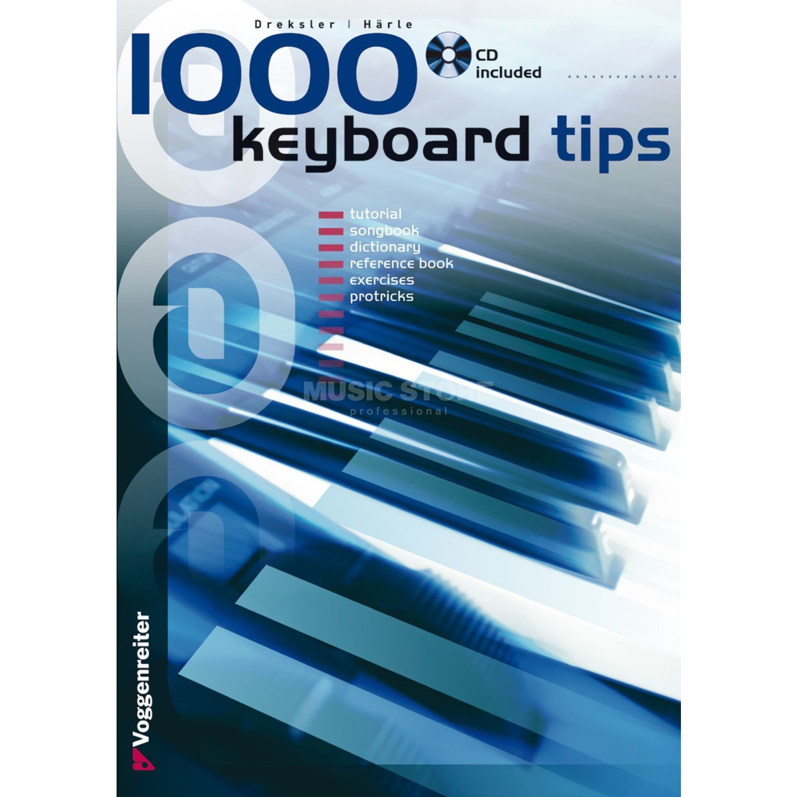 Voggenreiter 1000 Keyboard Tips ENGLISH Jaky Dreksler Produktbild
