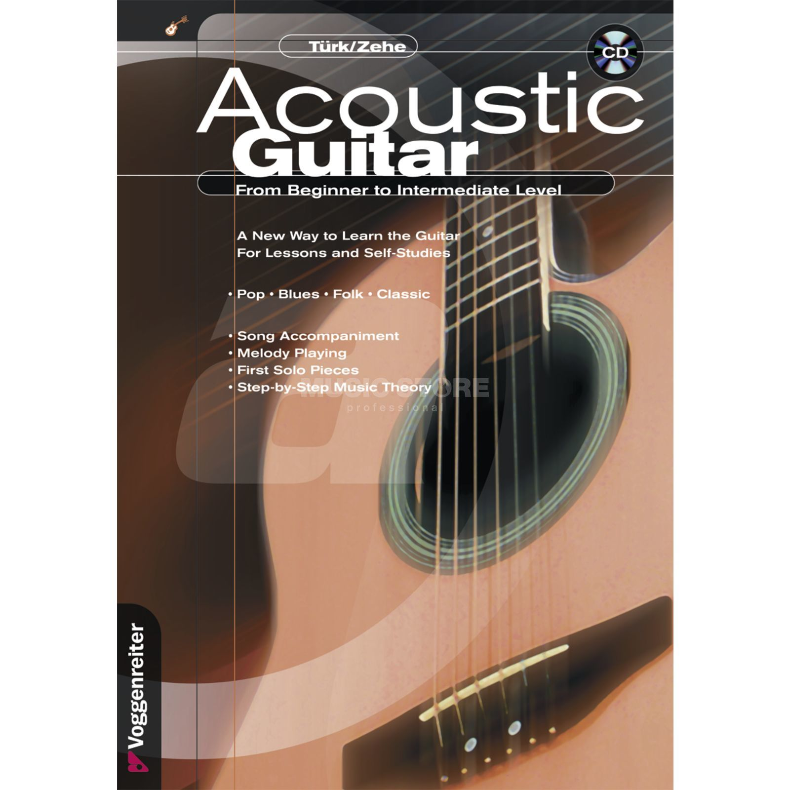 Voggenreiter Acoustic Guitar ENGLISH Türk/Zehe / incl. CD Produktbild
