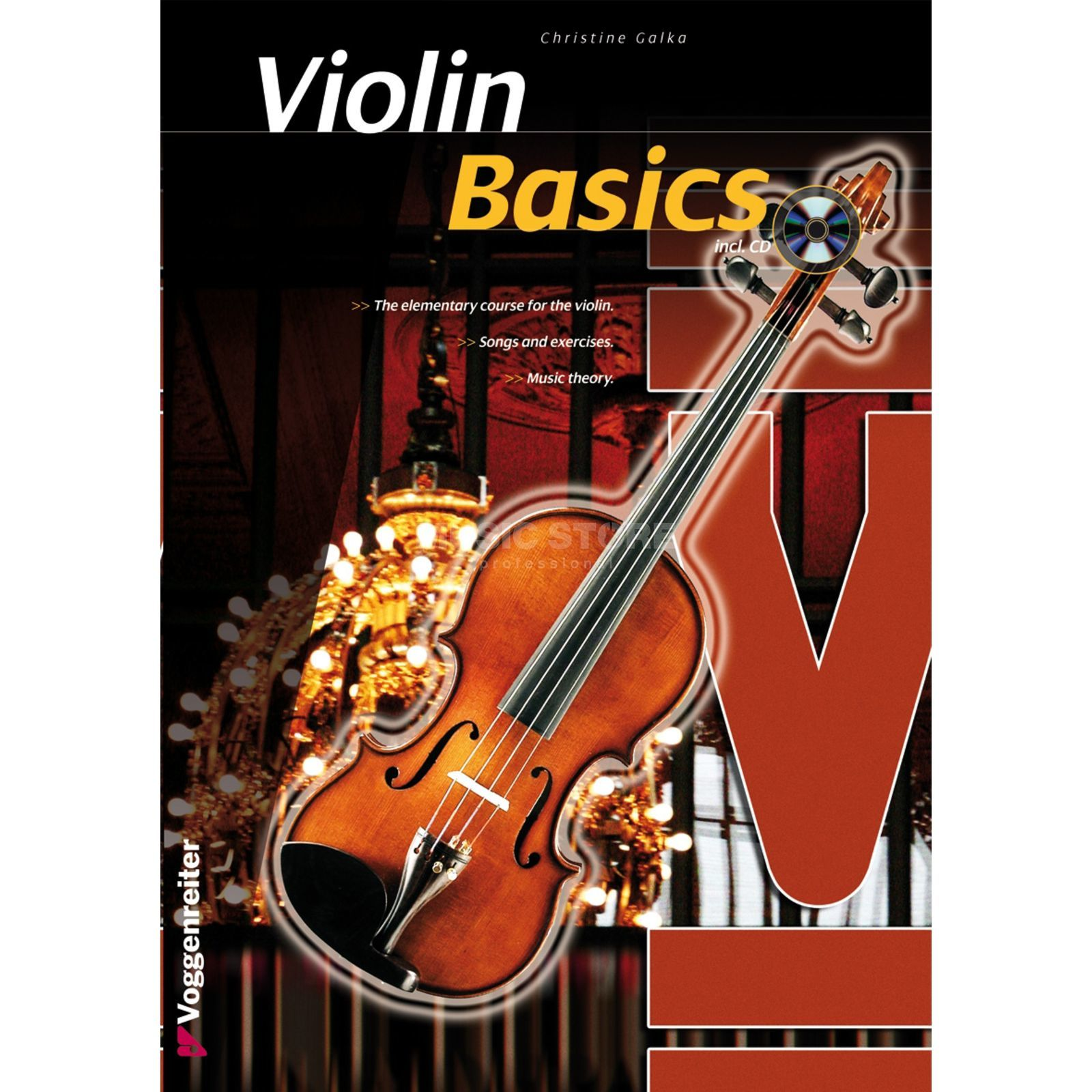 Voggenreiter Basics Violin ENGLISH  Produktbillede