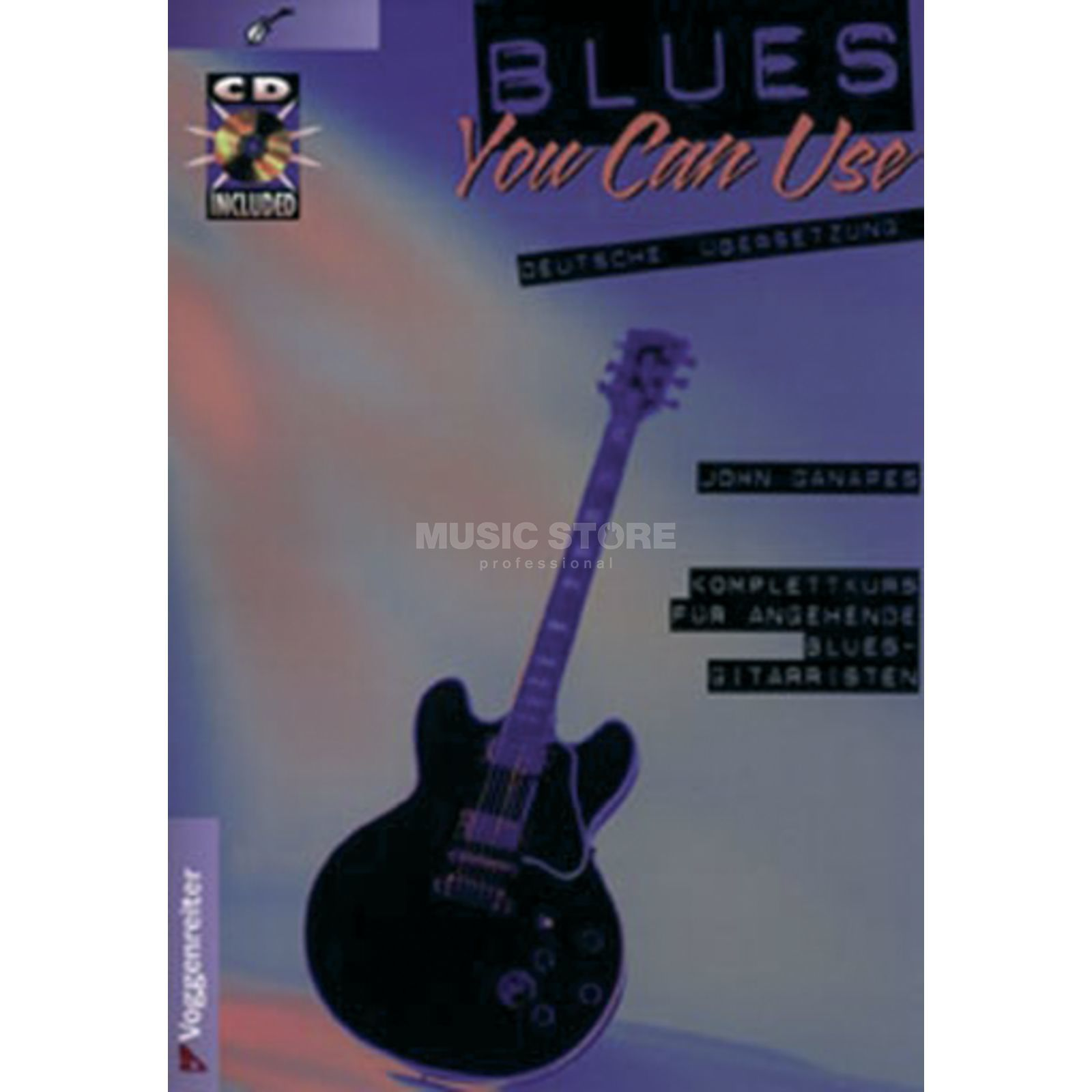 Voggenreiter Blues You can Use  John Ganapes,inkl. CD Produktbild