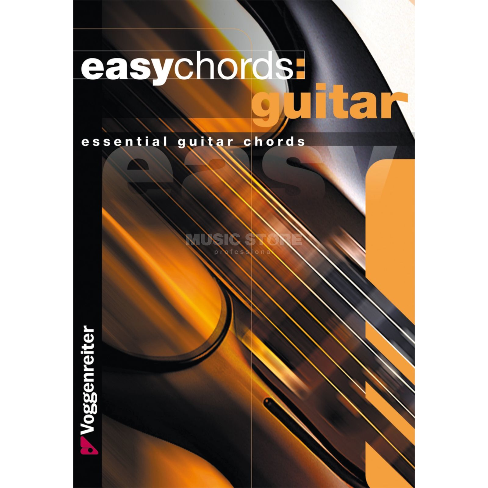 Voggenreiter Easy Chords Guitar ENGLISH Bessler & Opgenoorth Produktbillede