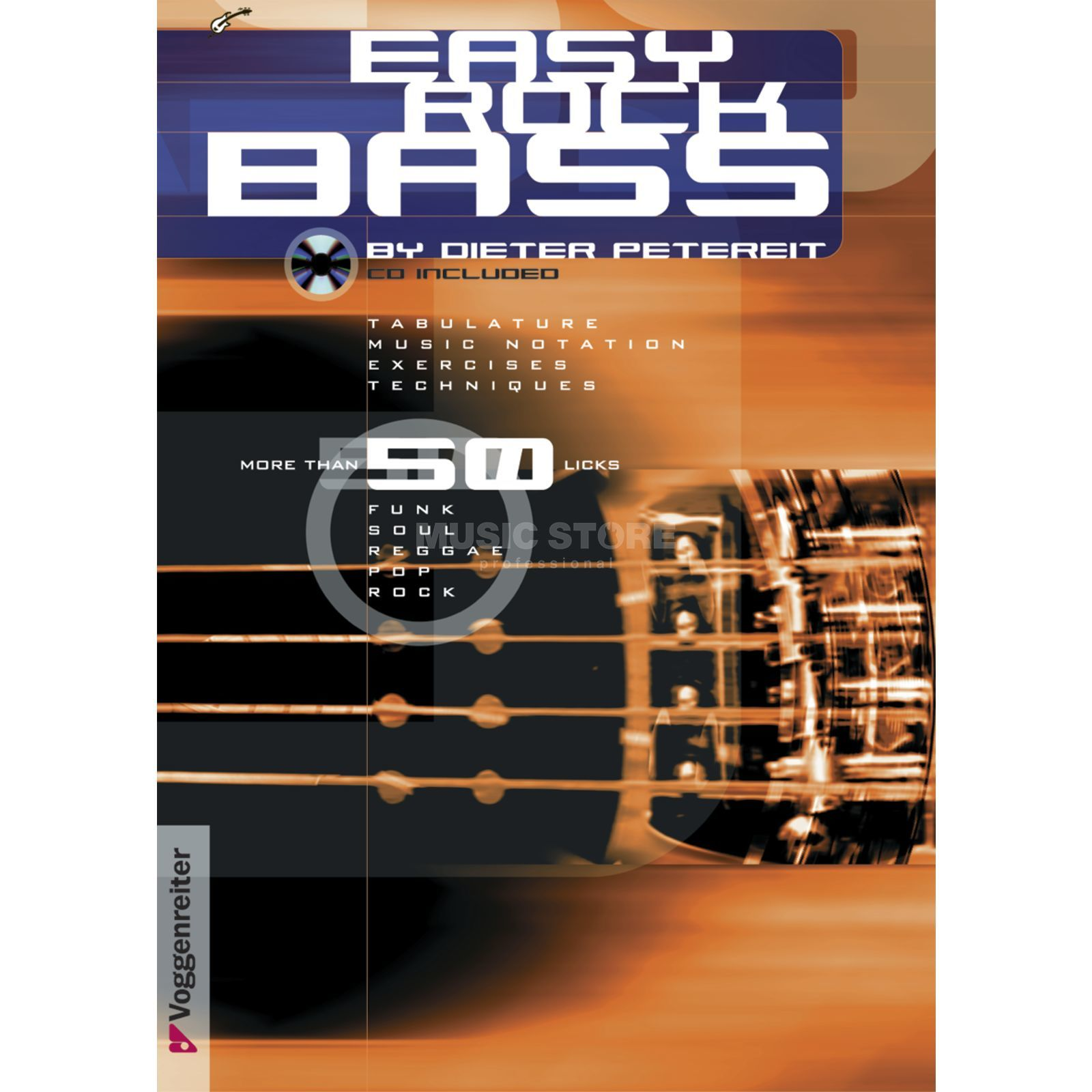 Voggenreiter Easy Rock Bass ENGLISH Petereit / primer / incl. CD Produktbild