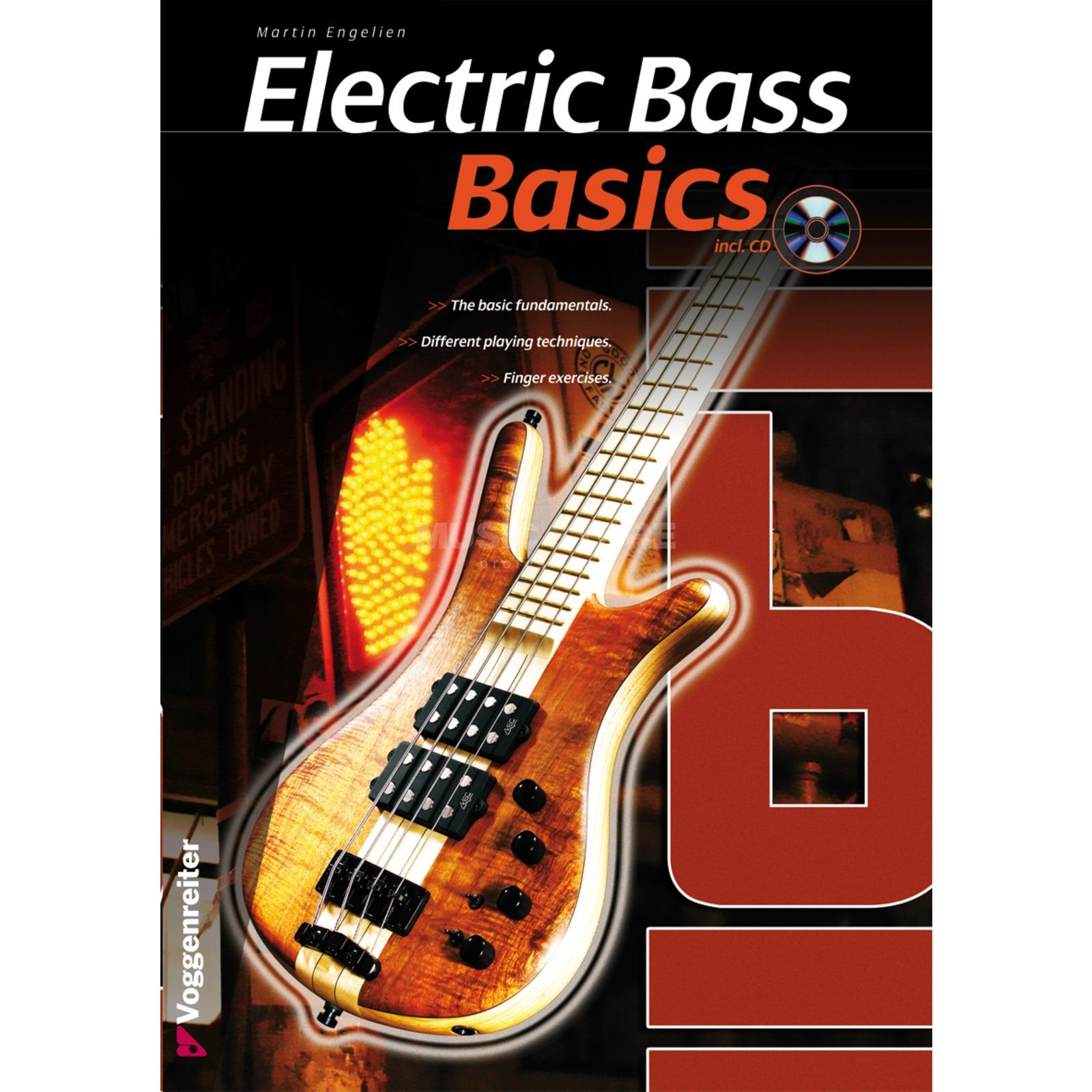 Voggenreiter Electric Bass Basics ENGLISH Engelien / primer/ incl. CD Produktbillede