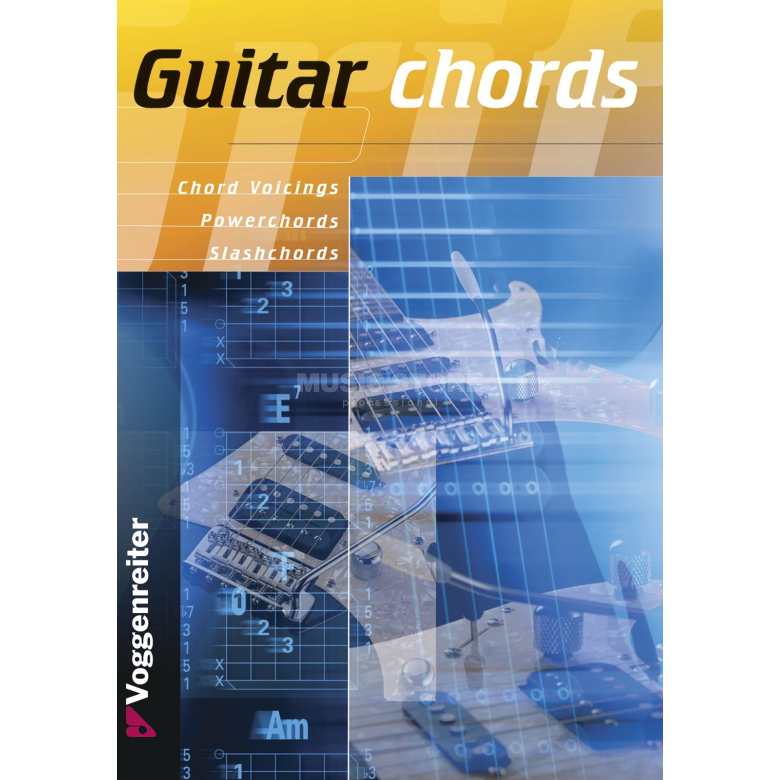 Voggenreiter Guitar Chords ENGLISH Bessler & Opgenoorth Produktbillede