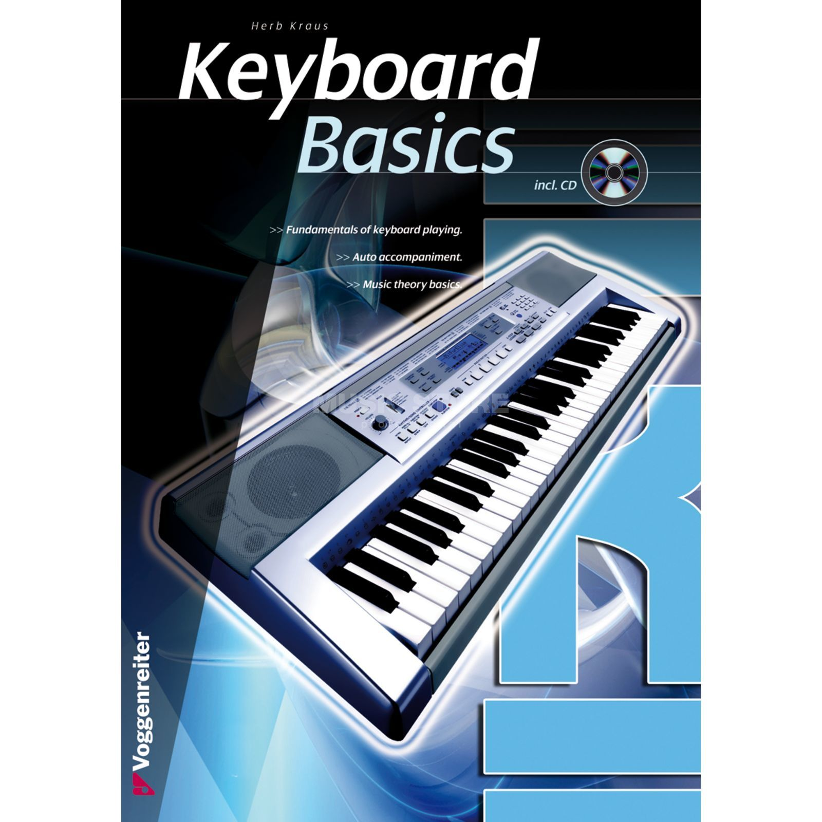 Voggenreiter Keyboard Basics ENGLISH Kraus / primer / incl. CD Produktbillede