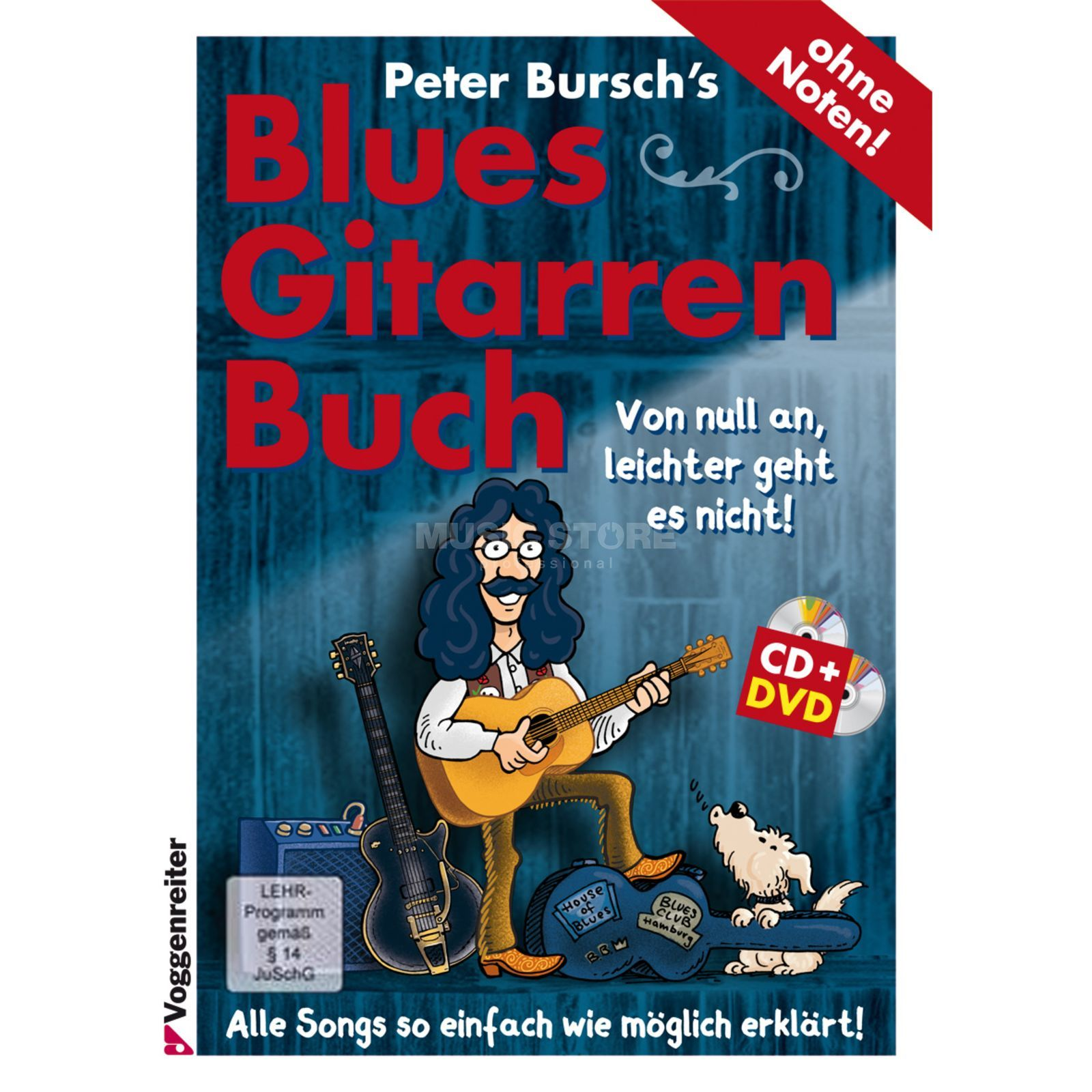 Voggenreiter Peter Bursch's Blues-Gitarrenbuch Product Image