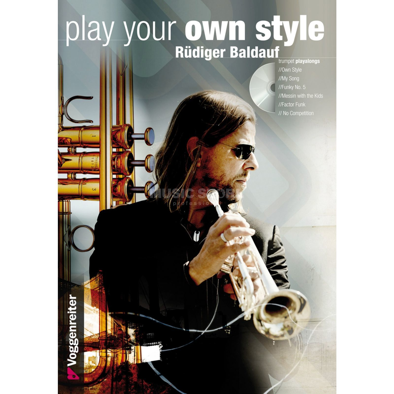 Voggenreiter Play your Own Style Rüdiger Baldauf, Trompete/CD Produktbild