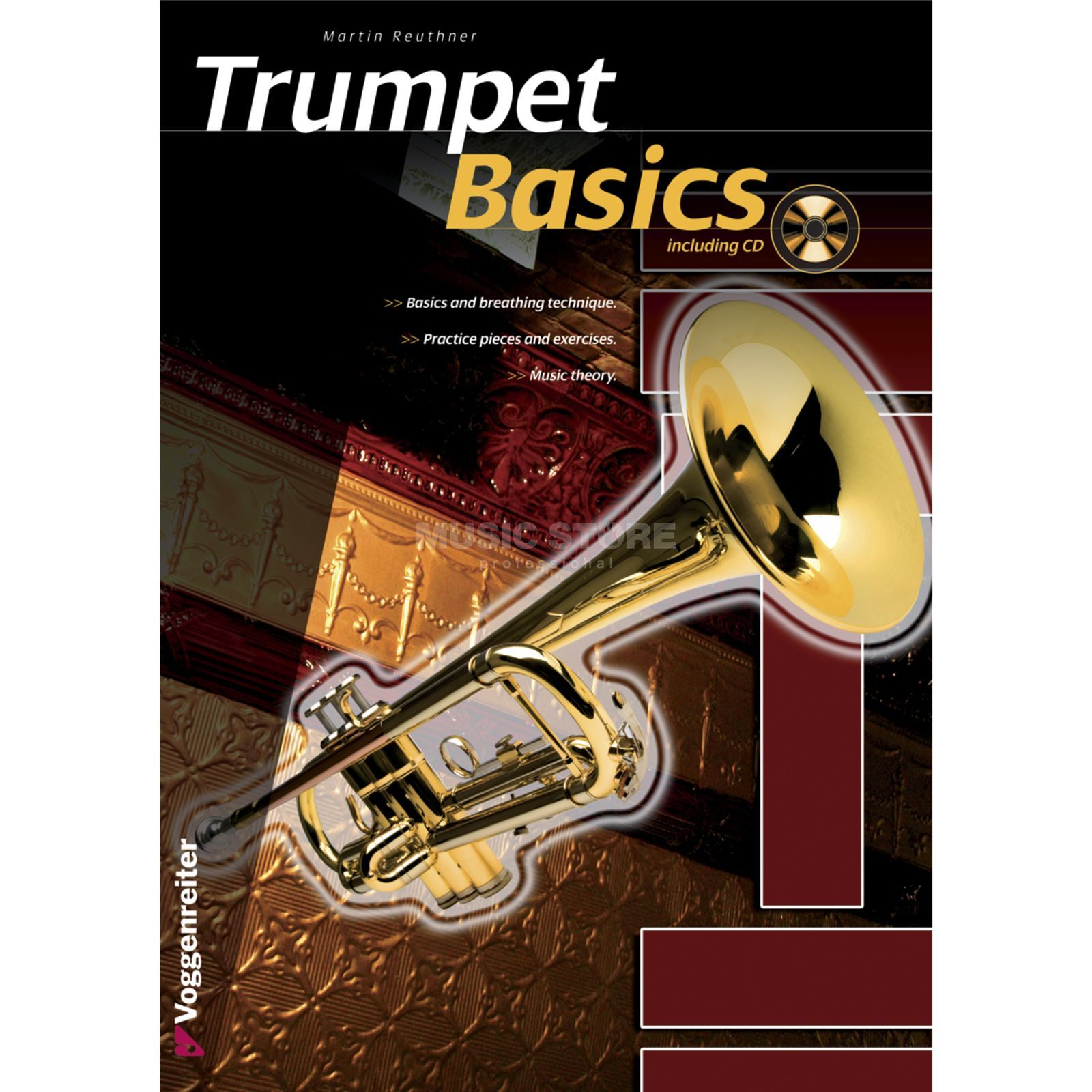 Voggenreiter Trumpet Basics ENGLISH Reuthner / primer / incl. CD Product Image
