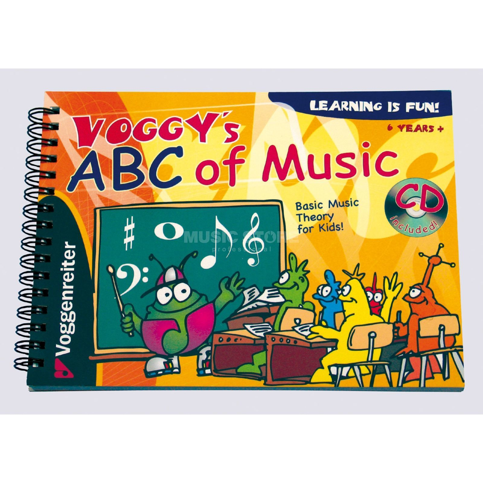 Voggenreiter Voggy's ABC of Music ENGLISH  Produktbillede