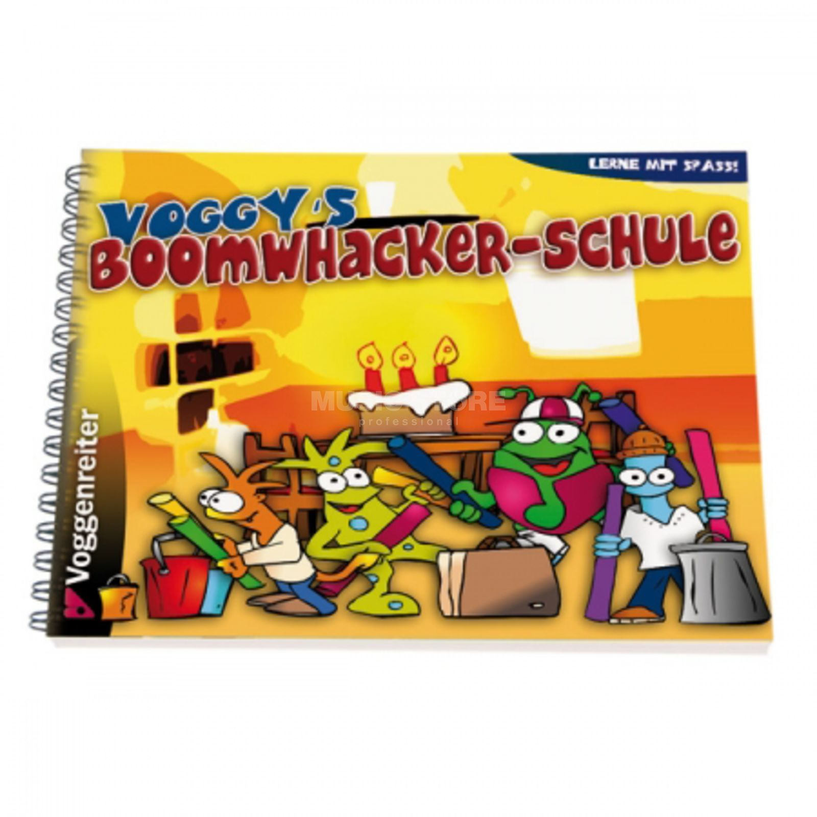 Voggenreiter Voggy's Boomwhakers-Schule Andreas von Hoff, Buch/CD Product Image