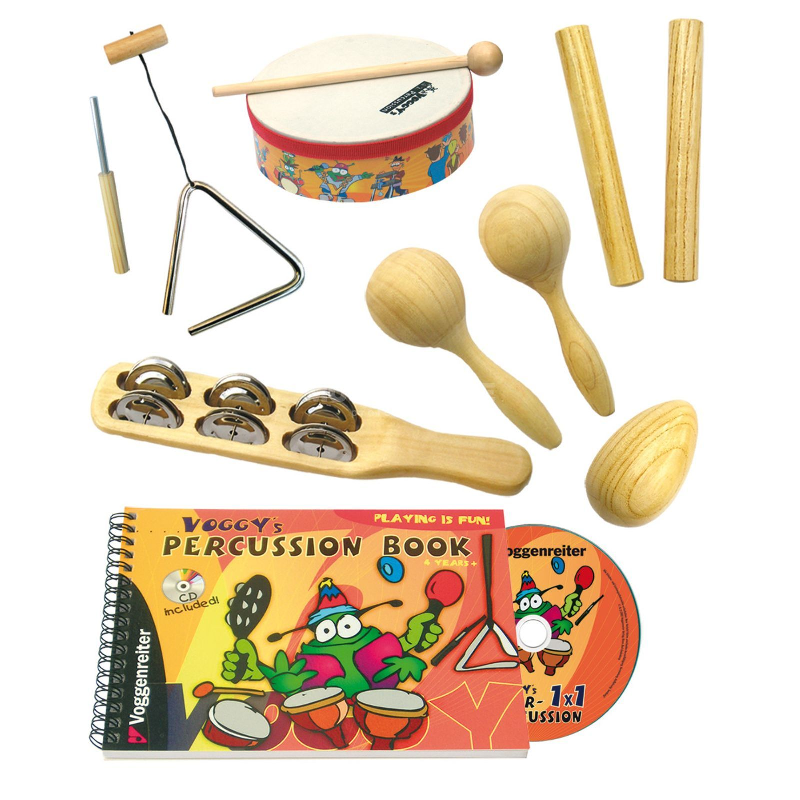 Voggenreiter Voggy´s percussion set UK Version Produktbild