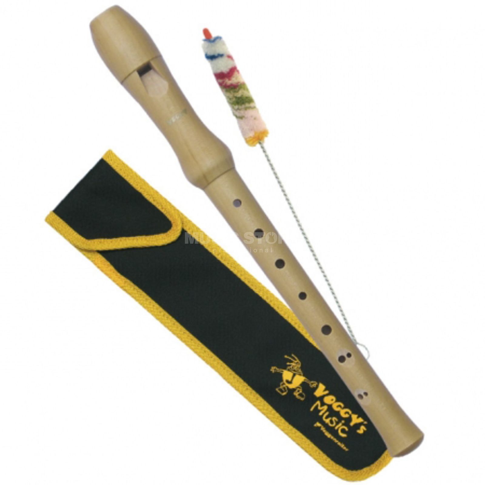 Voggenreiter Voggy's Wood Recorder - Maple Soprano - Baroque Produktbillede