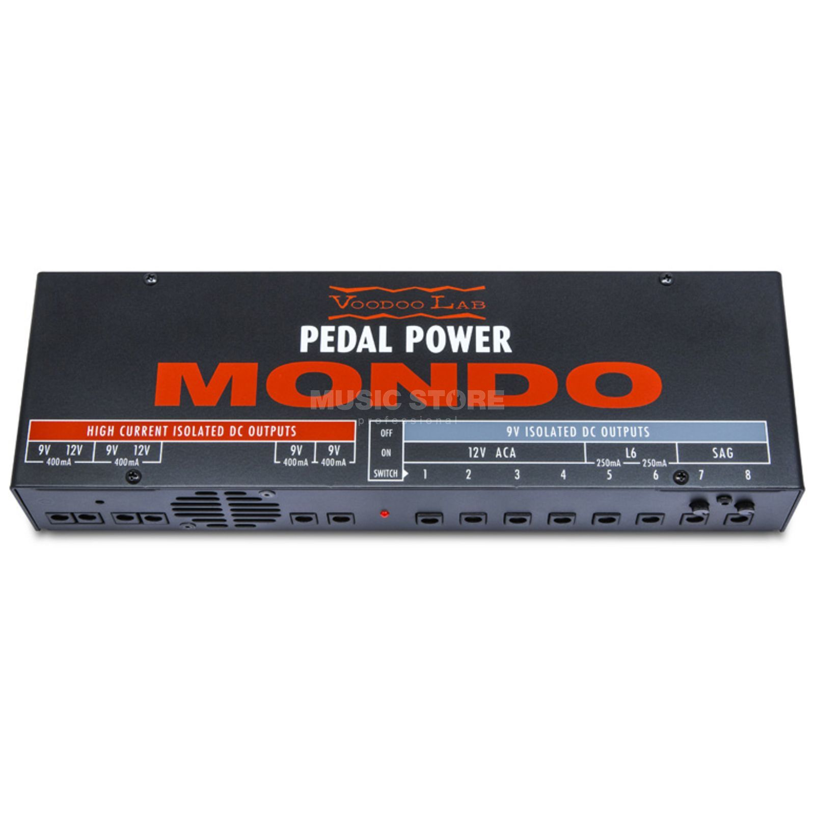 Voodoo-Lab pedaal Power Mondo  Productafbeelding