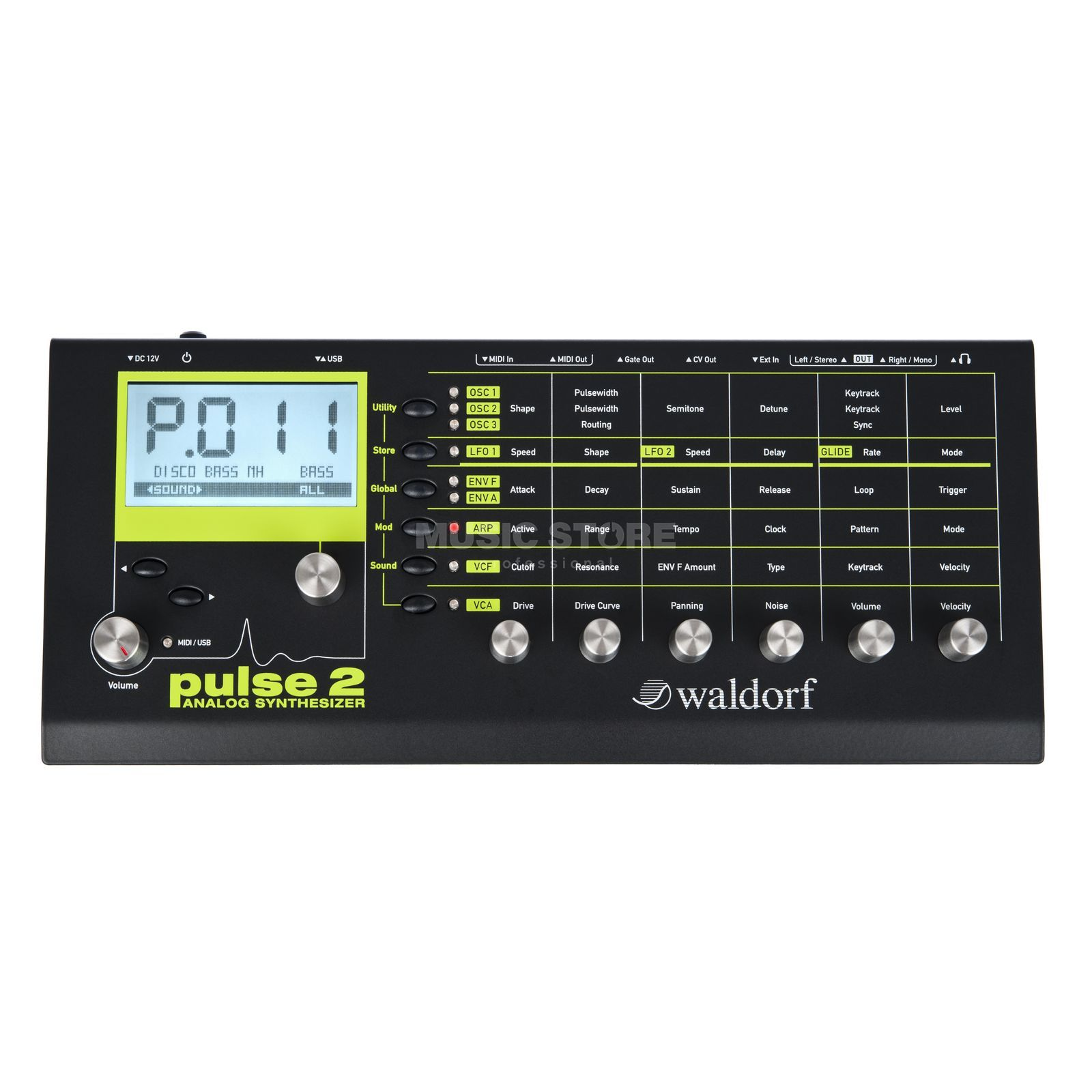 Waldorf Pulse 2 Analog Synthesizer Produktbillede