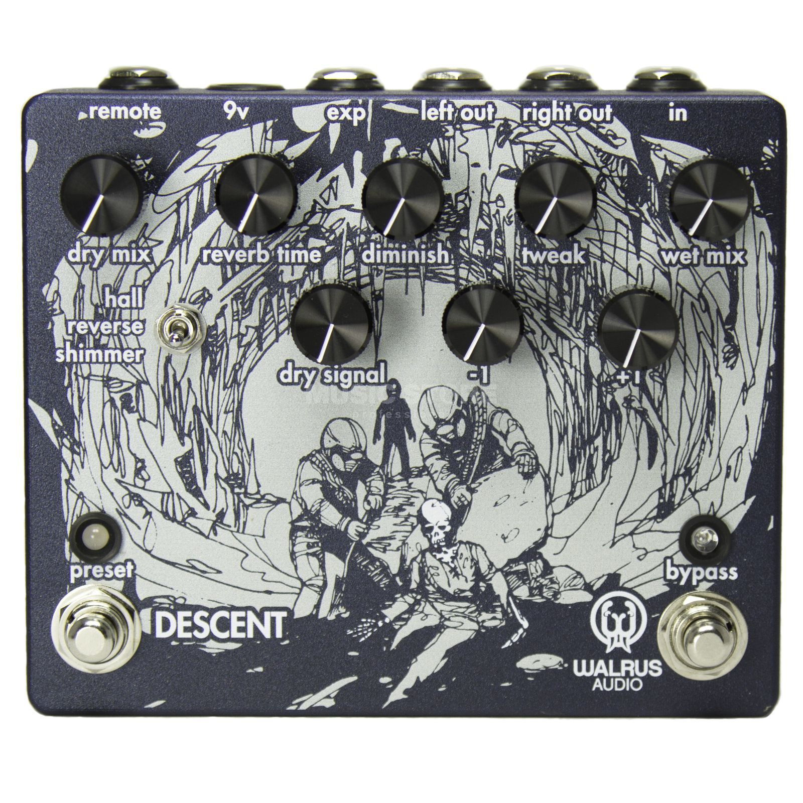 Walrus Audio Descent Reverb Produktbild