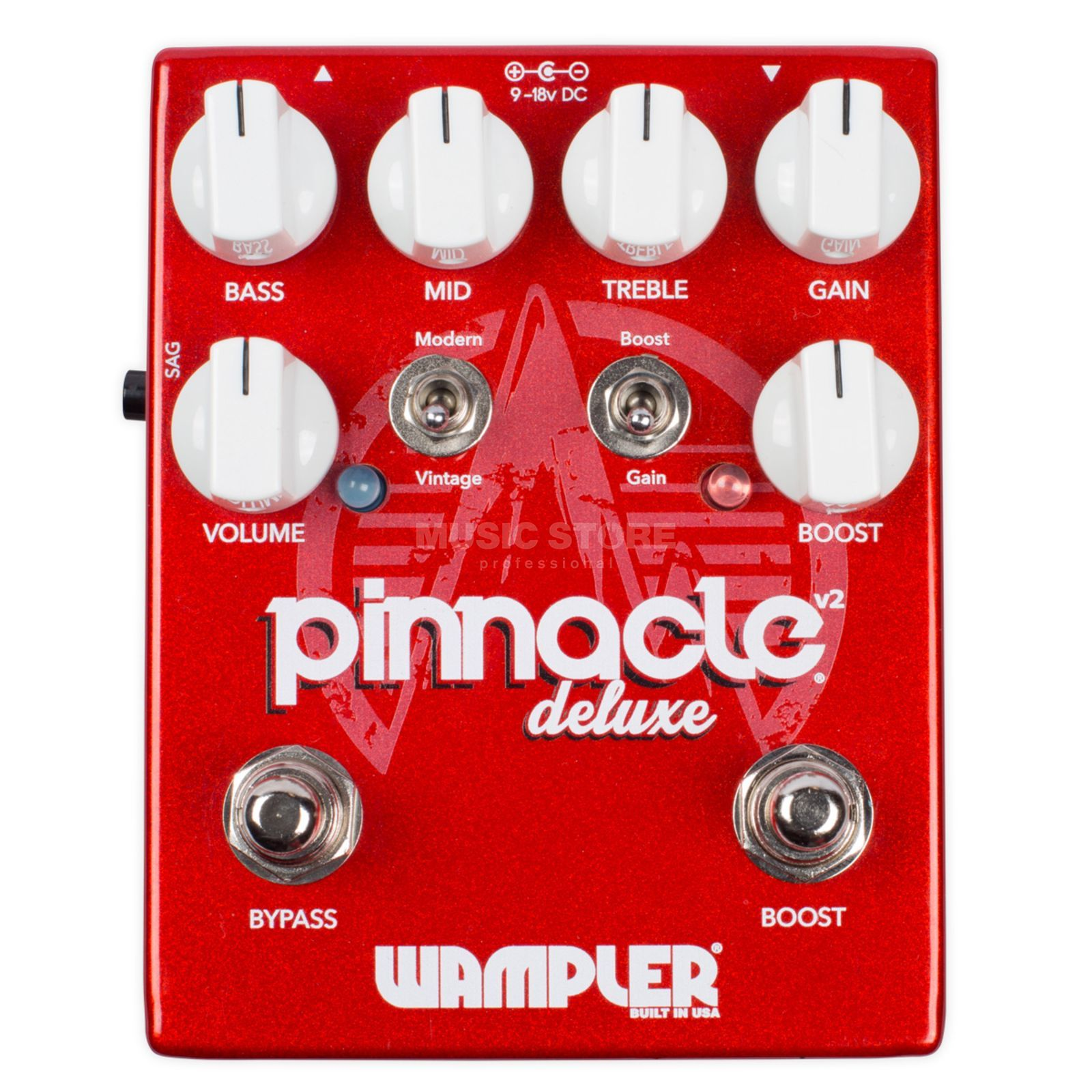 Wampler Pinnacle Deluxe V2 Distortion Image du produit