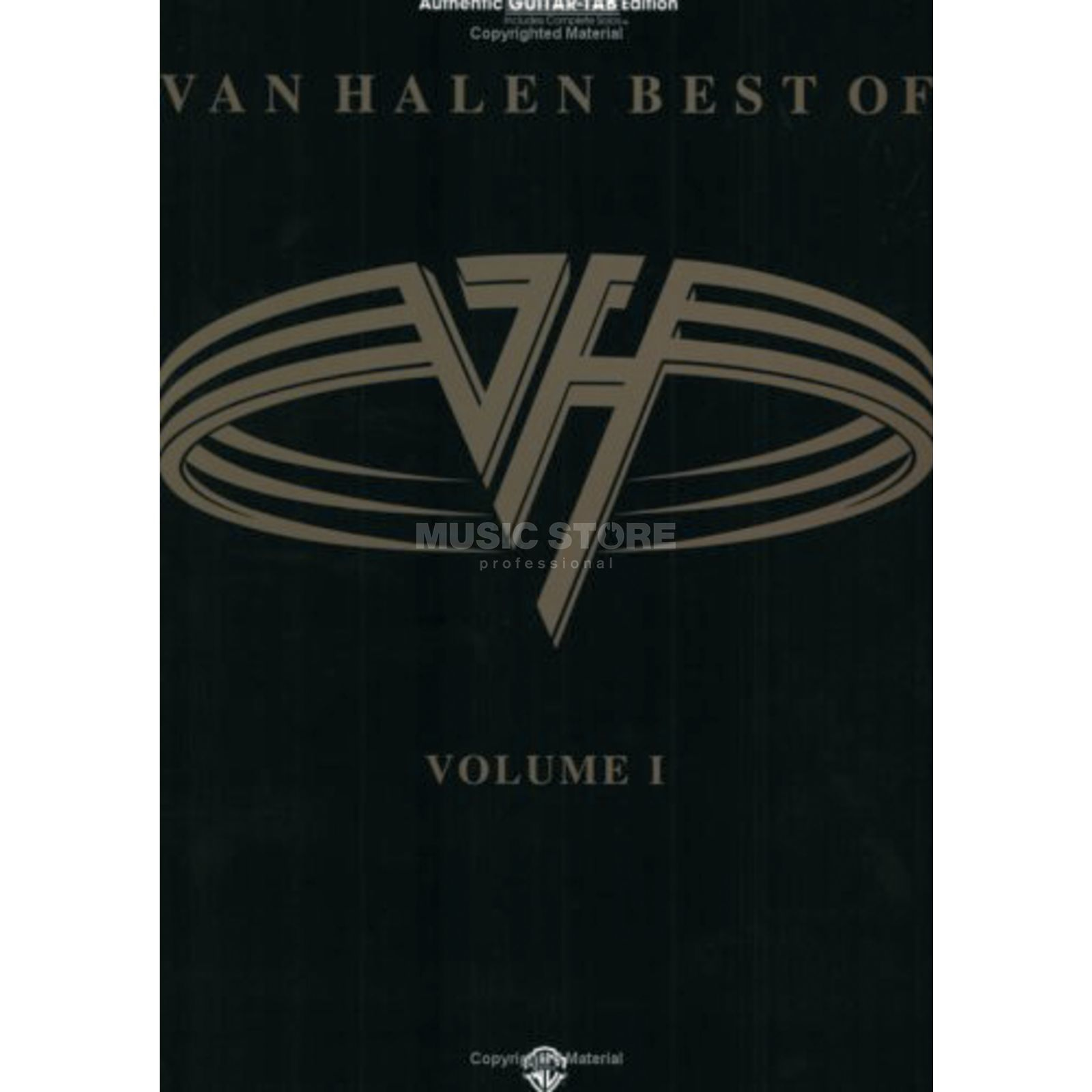 Warner Bros. Van Halen - Best Of Vol.1 TAB Produktbild