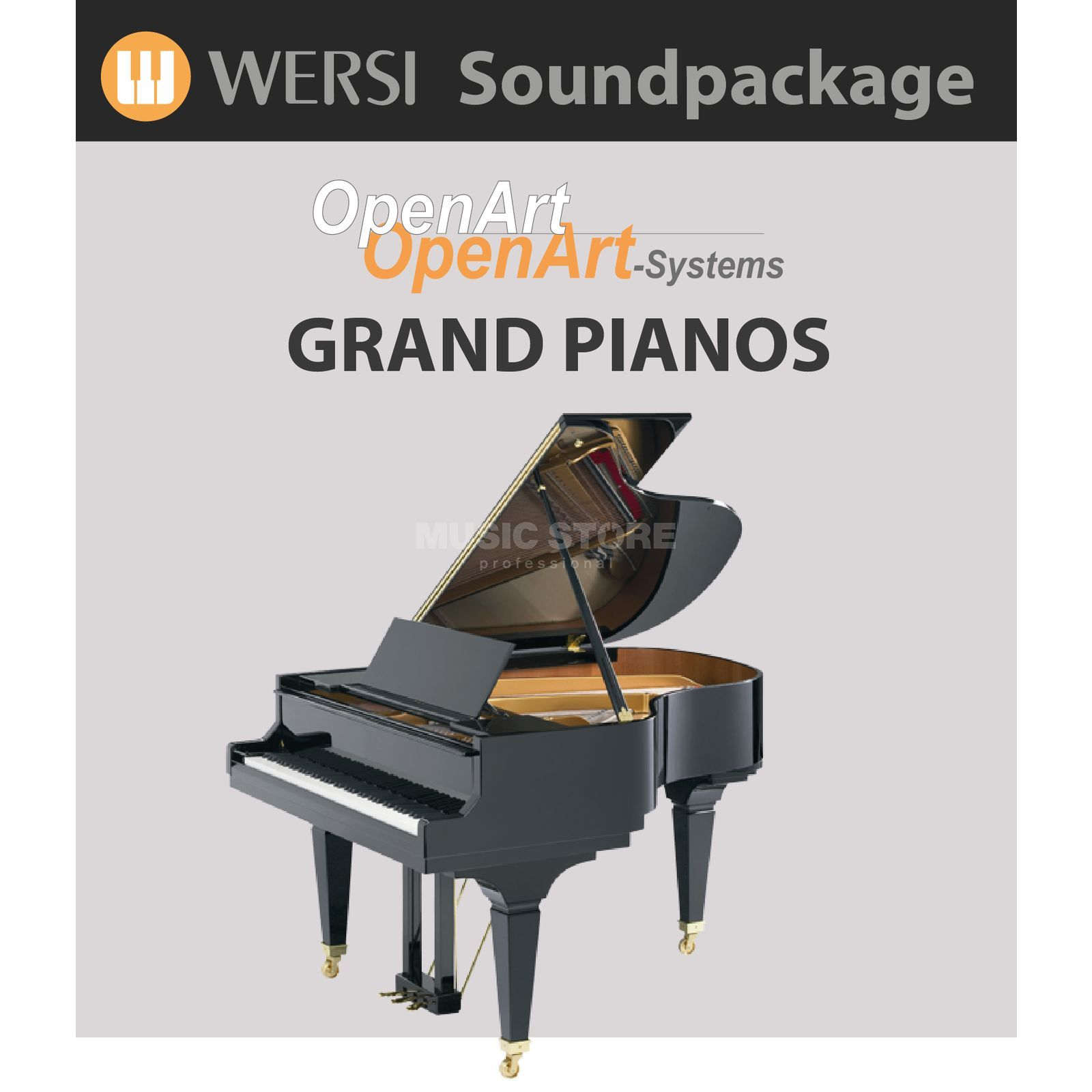 Wersi Grand Pianos (4003010) Soundpackage für OAS Produktbild