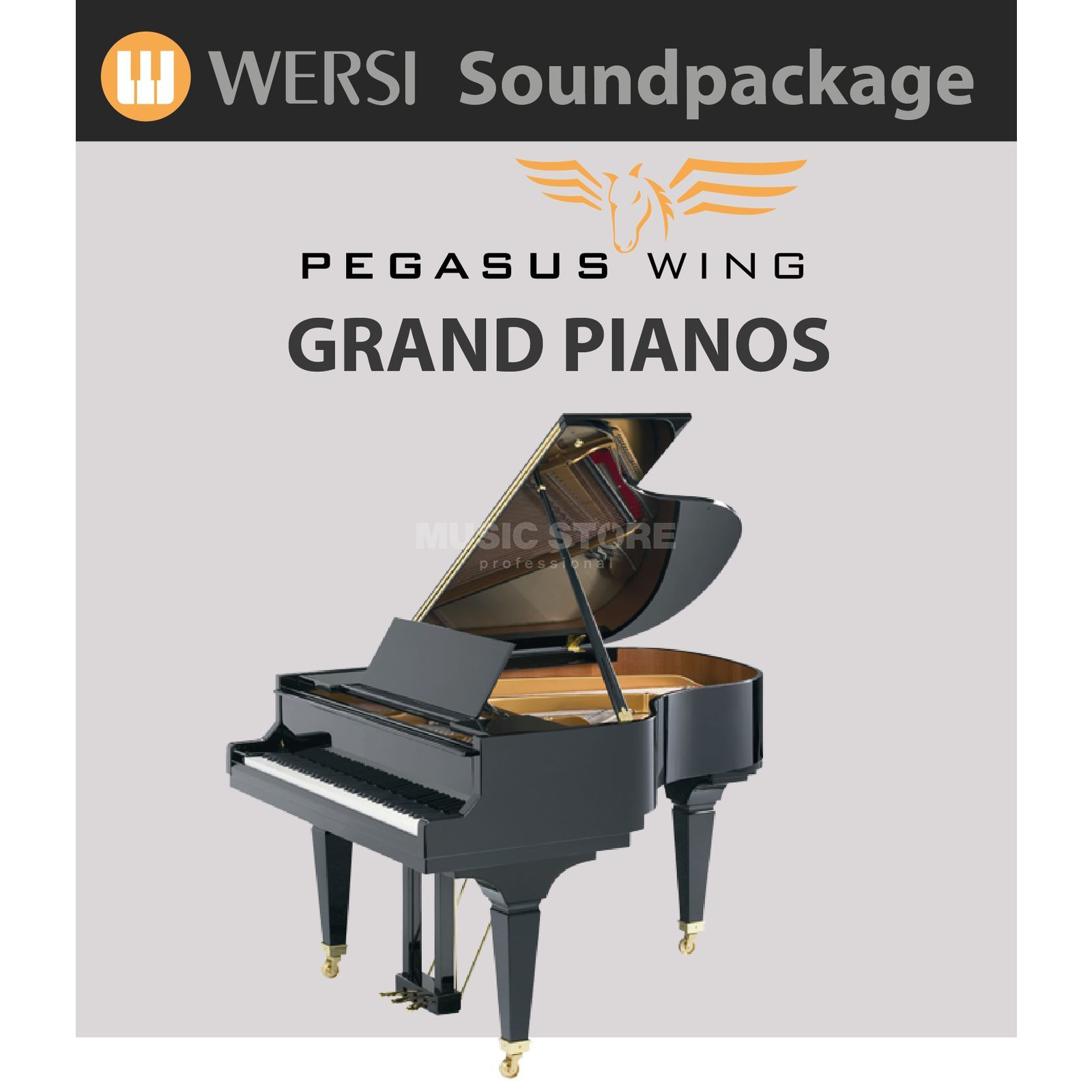Wersi Grand Pianos Soundpackage for Pegasus Wing Produktbillede