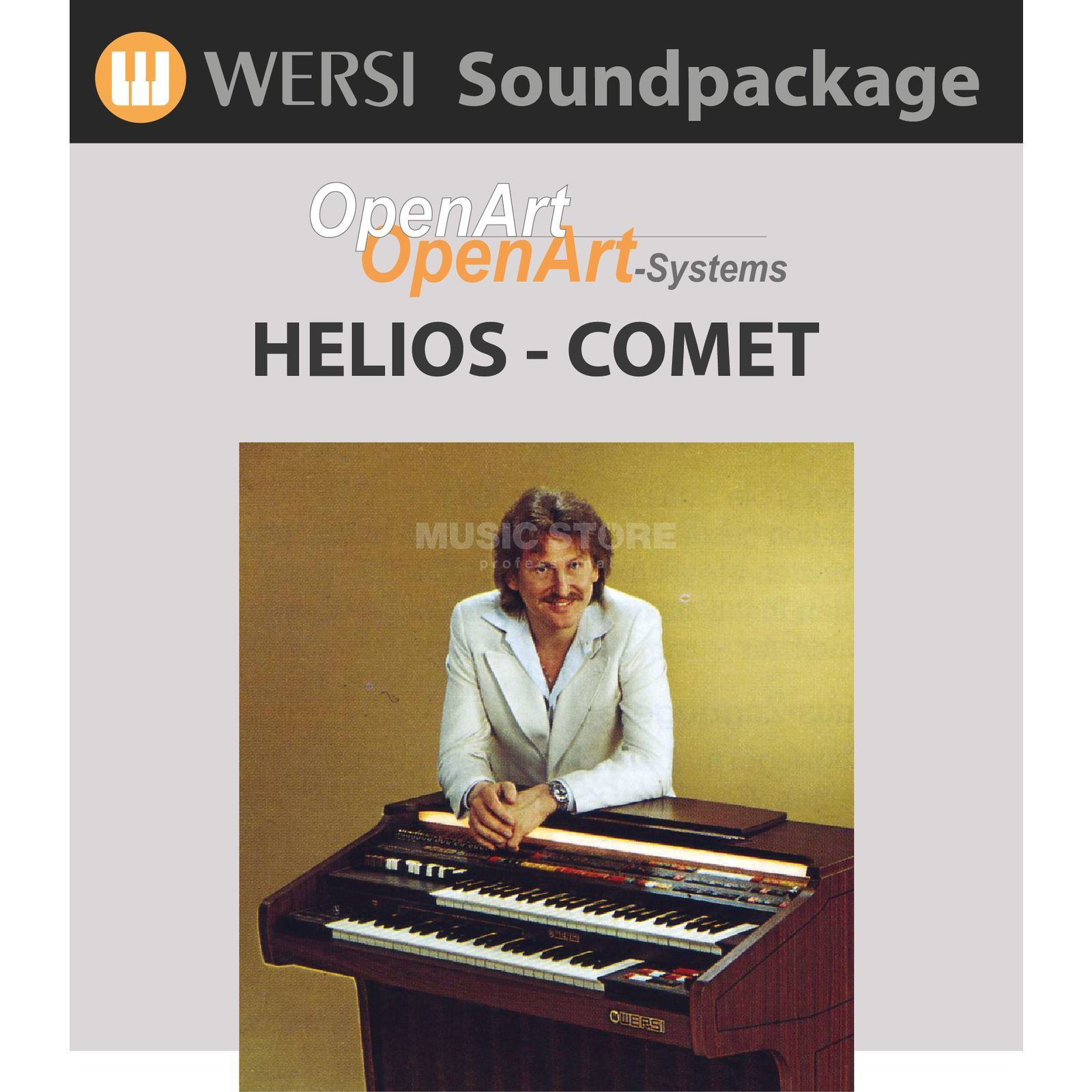 Wersi Helios Comet Sounds (4003330) Soundpackage for OAS Produktbillede
