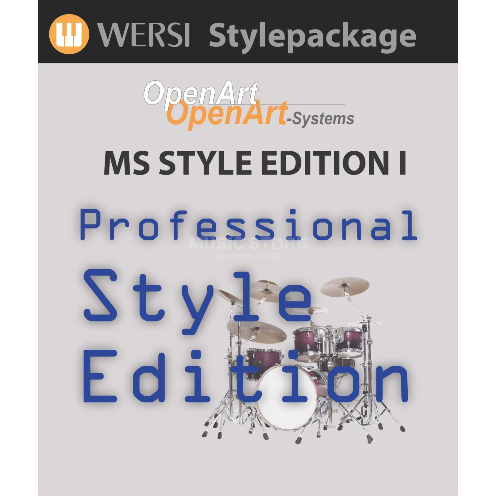 Wersi MS Professional Style Ddition 1 Sound Package OAS Produktbillede