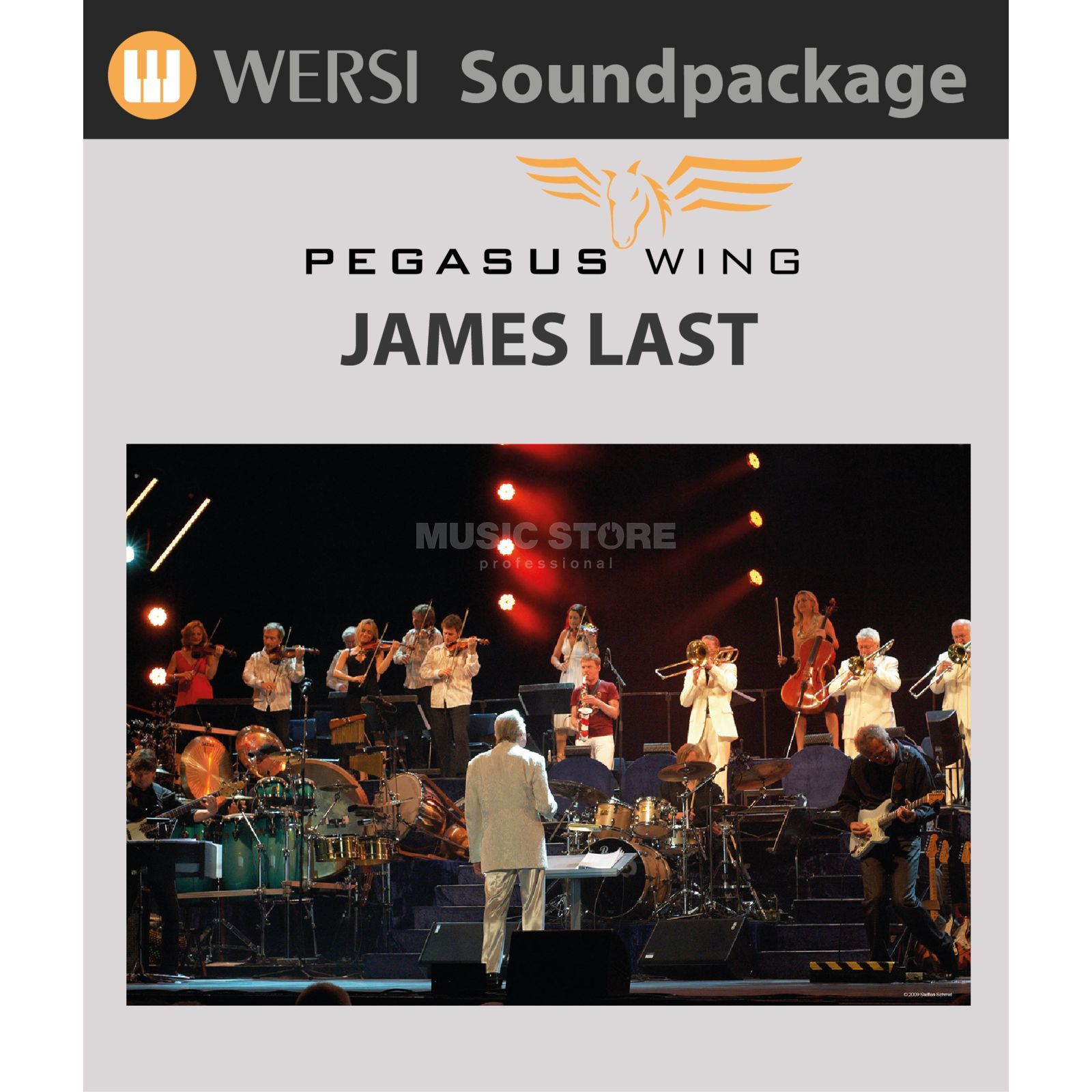 Wersi Pegasus Wing James Last Sounds Produktbild