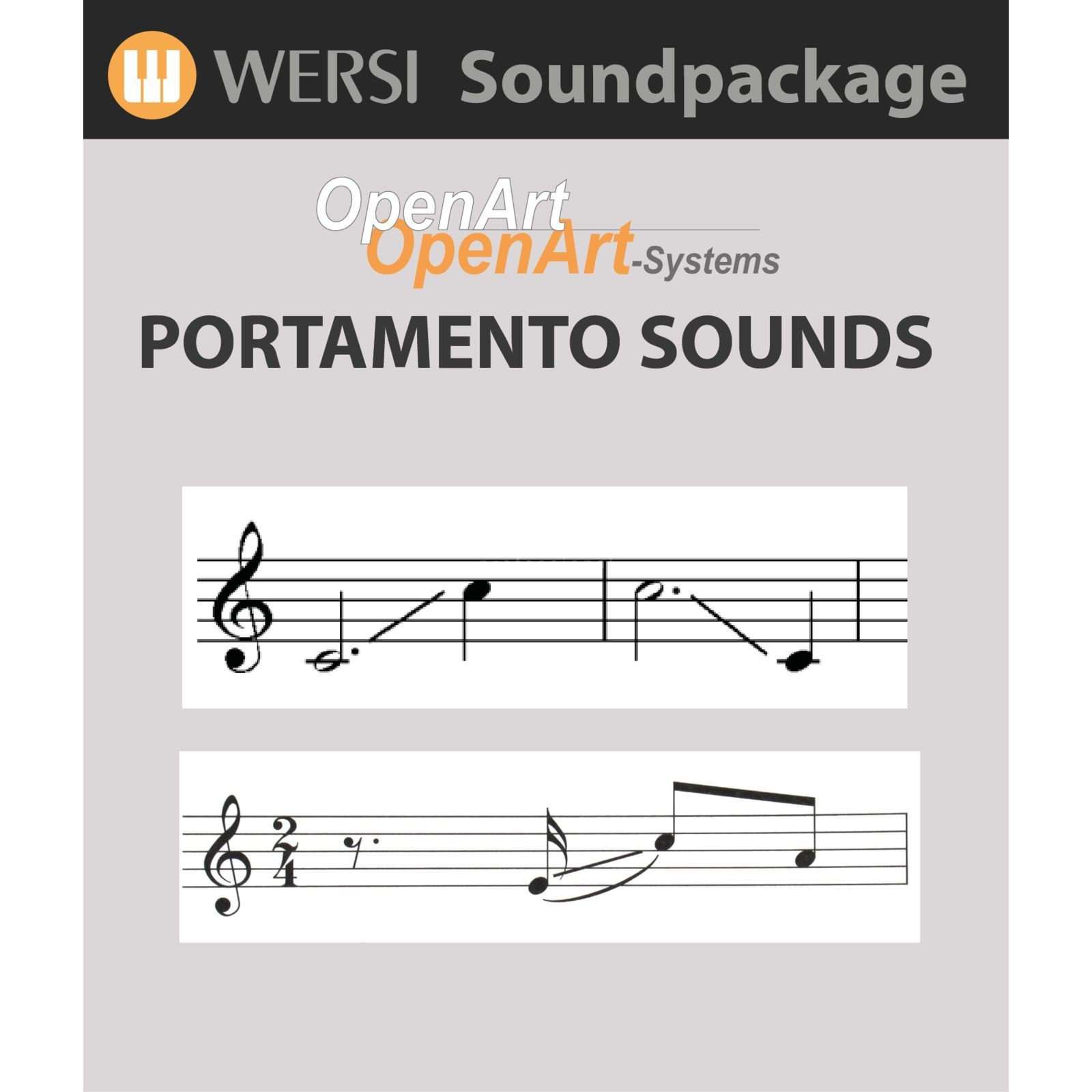 Wersi Portamento Sounds (4003060) Soundpackage for OAS Produktbillede
