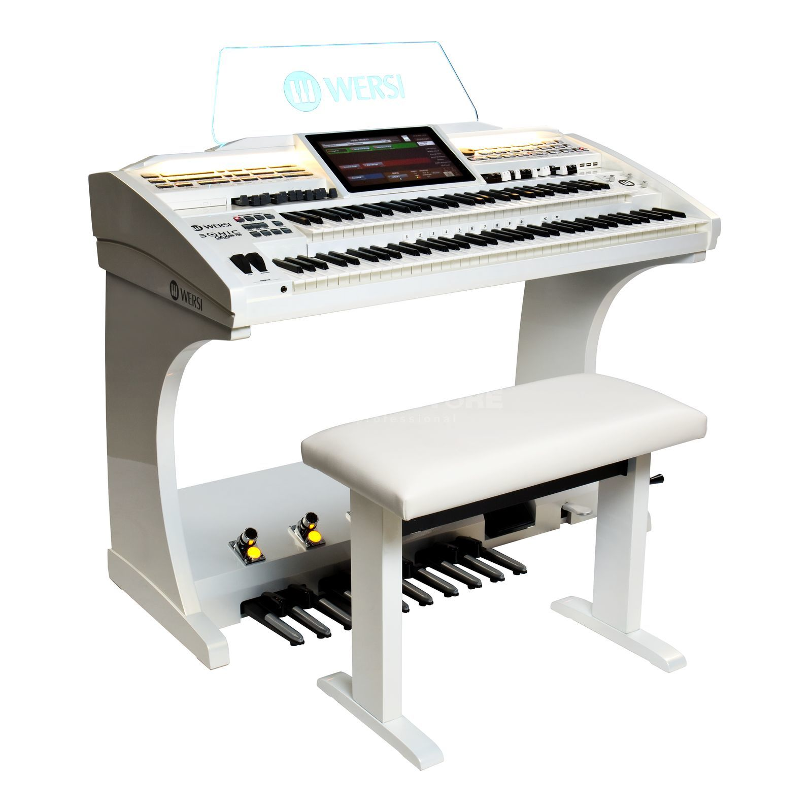 Wersi SONIC OAX600 pearly white Produktbild